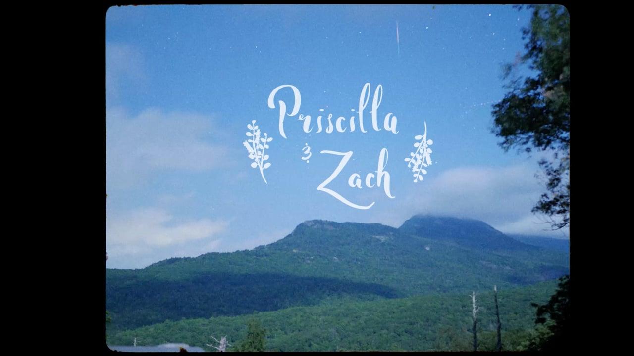 Zach + Priscilla  | Banner Elk, North Carolina | Overlook Barn