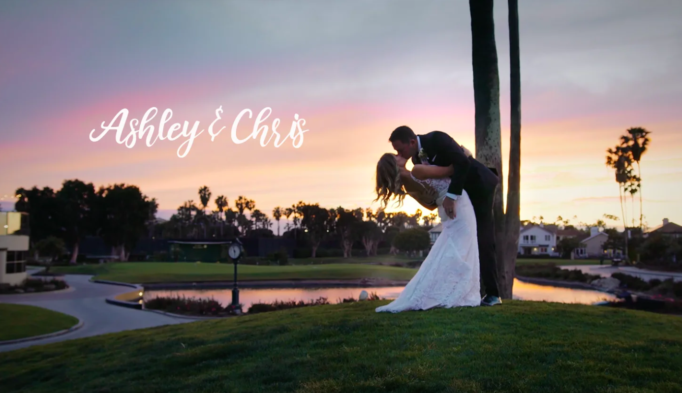 Ashley + Chris | Huntington Beach, California | Seacliff Country Club