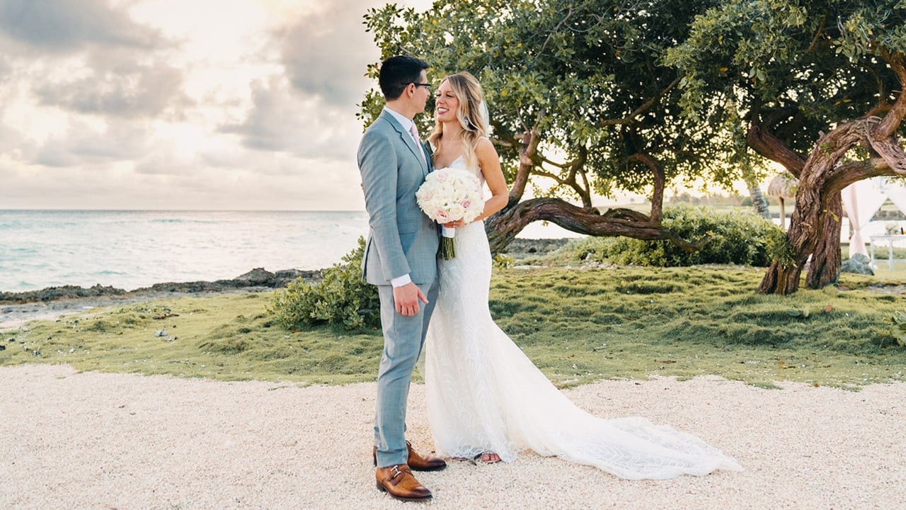 Leslie + Michael | Punta Cana, Dominican Republic | Eden Rock Cap Cana