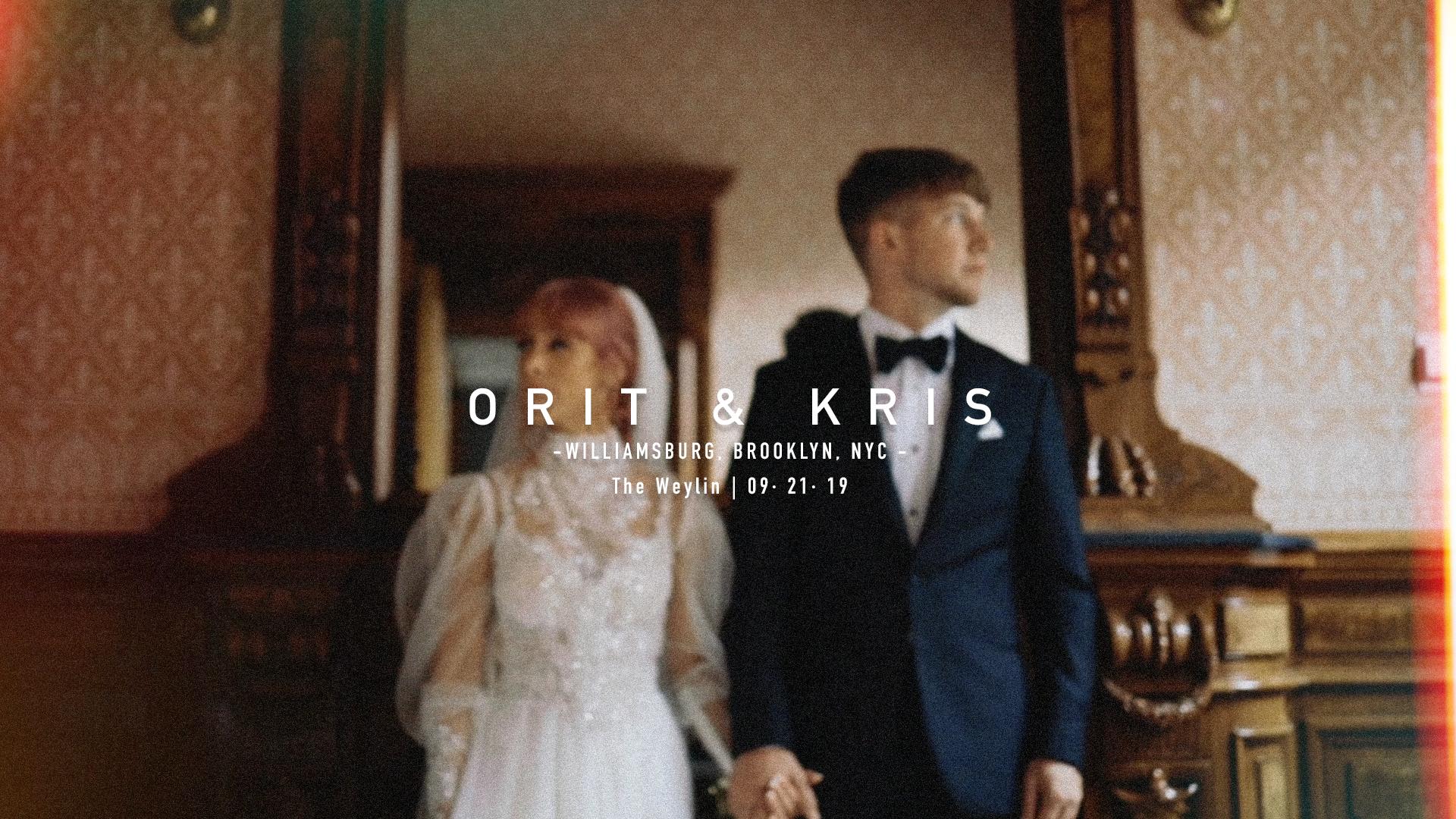 Orit + Kris | New York, New York | Weylin