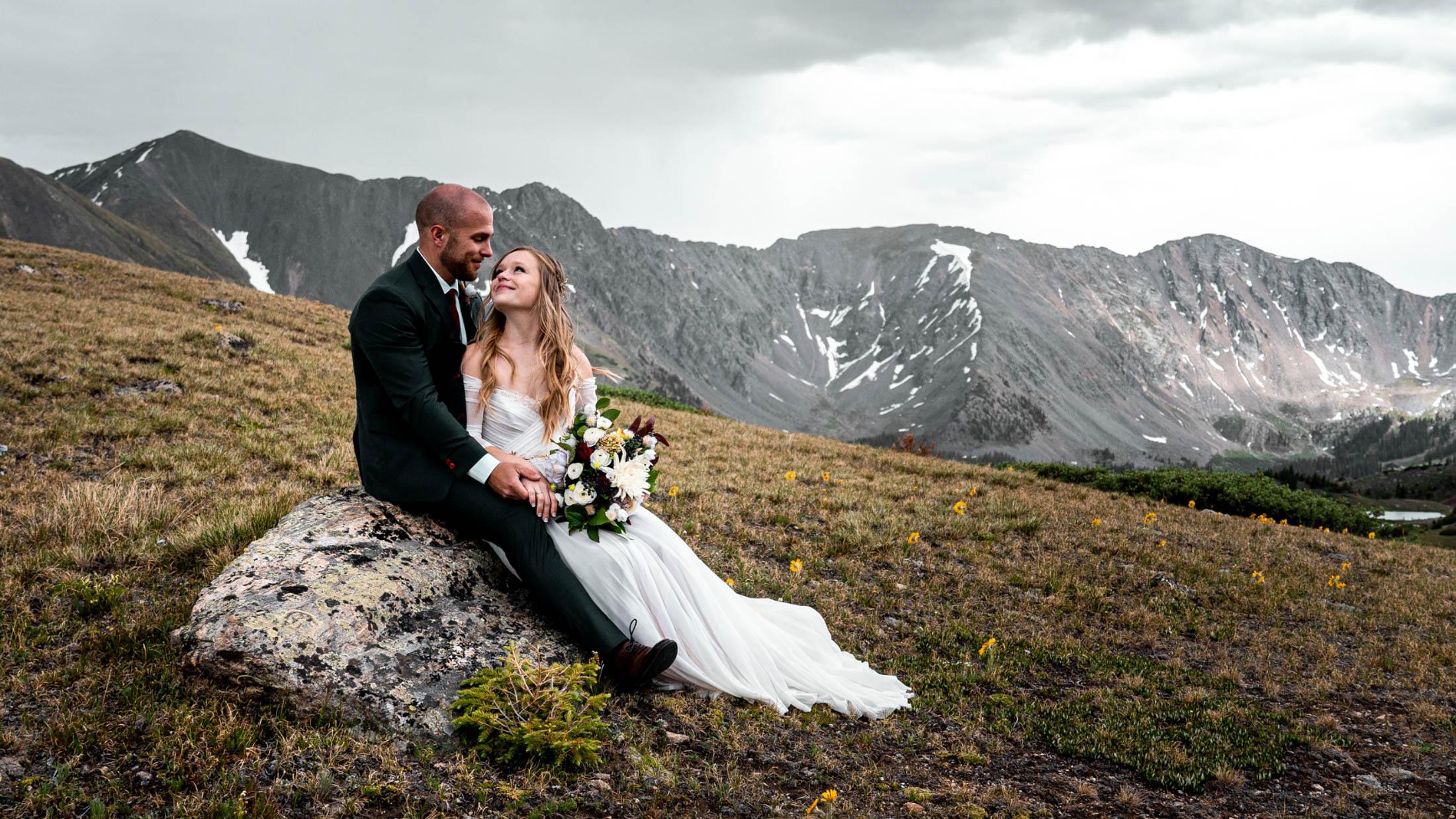 Maggie + Alex   Colorado, Colorado   a mountaintop