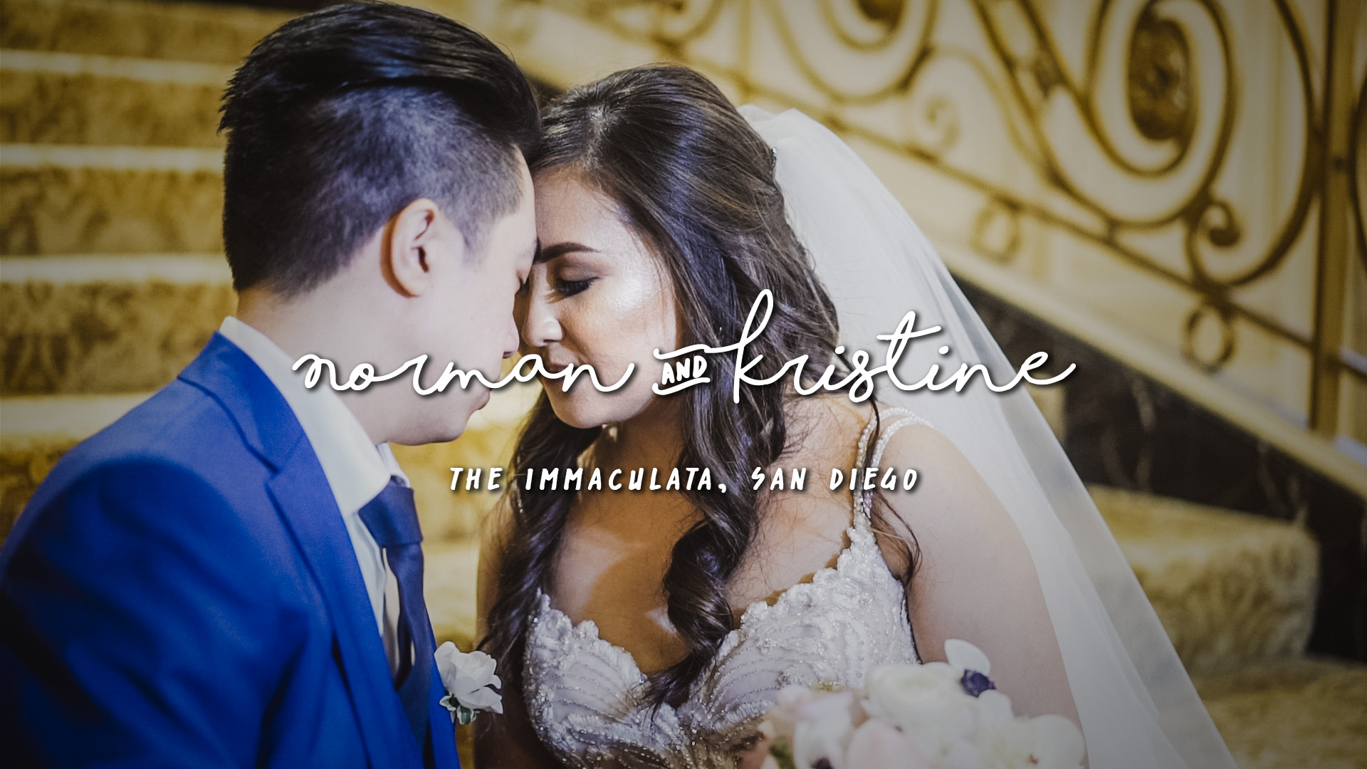 Kristine + Norman | San Diego, California | The Westgate Hotel