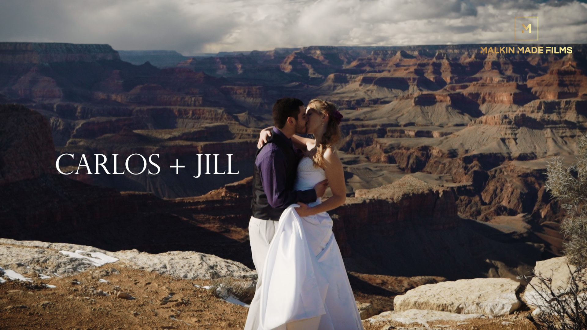 Carlos + Jill | Grand Canyon Village, Arizona | Moran Point