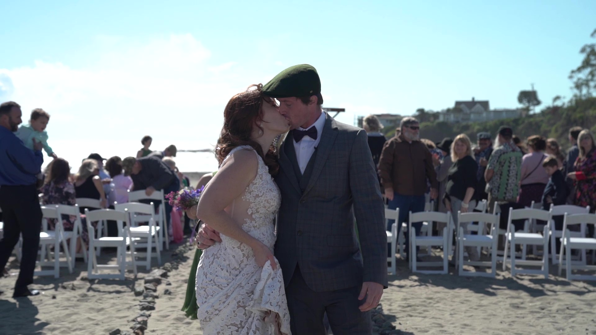 Ashley + Thomas | Cayucos, California | Cayucos Vets Hall