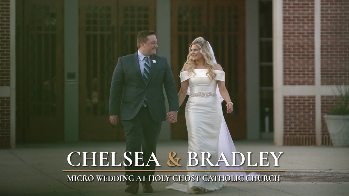 Chelsea + Bradley | Hammond, Louisiana | Holy Ghost Catholic Church