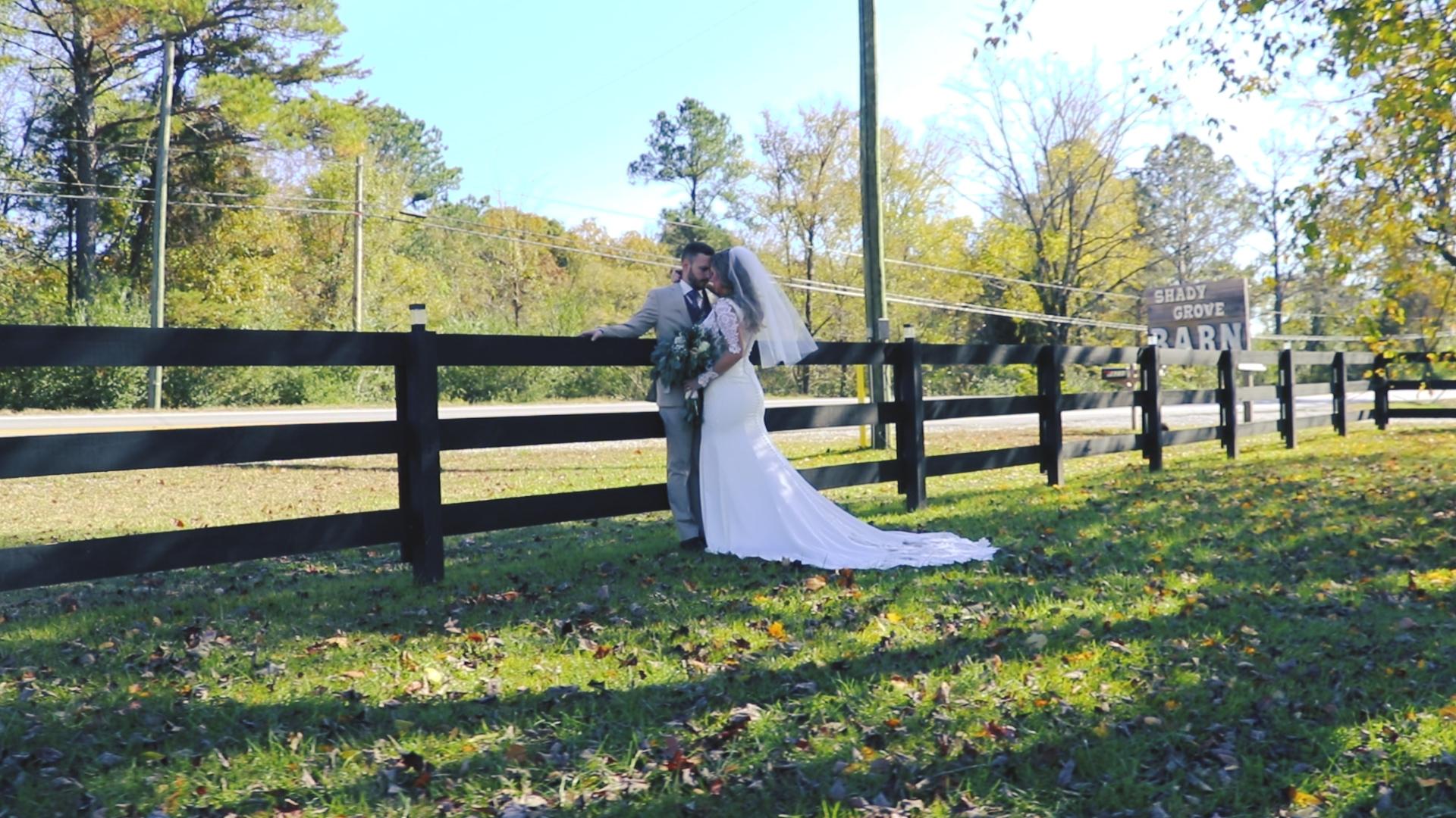 Jordan + Mary Beth | Double Springs, Alabama | The Barn at Shady Grove