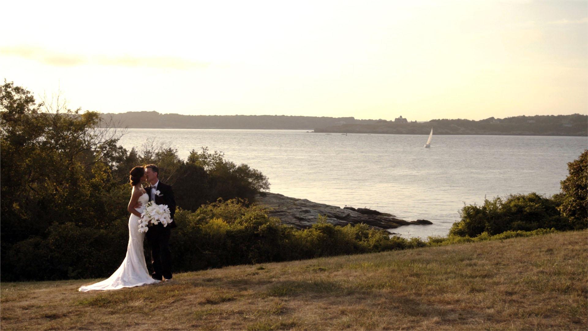 Natalie + John | Newport, Rhode Island | Oceancliff