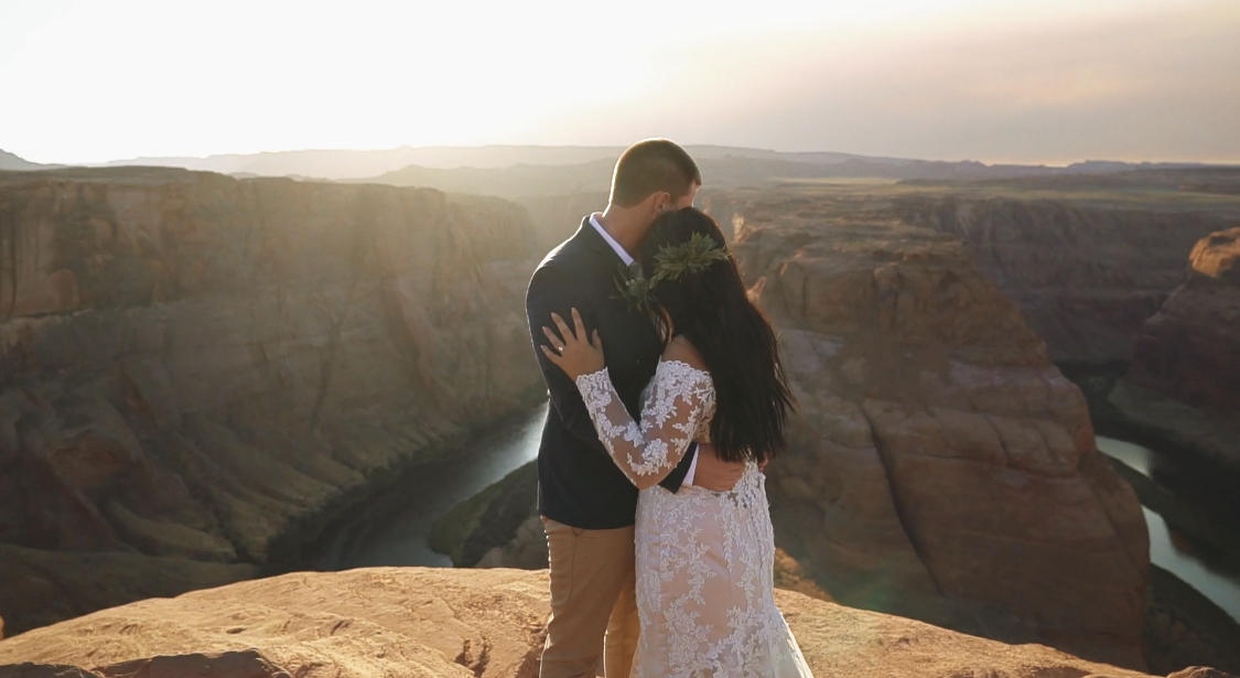 Sierra + Eric | Page, Arizona | Horseshoe Bend