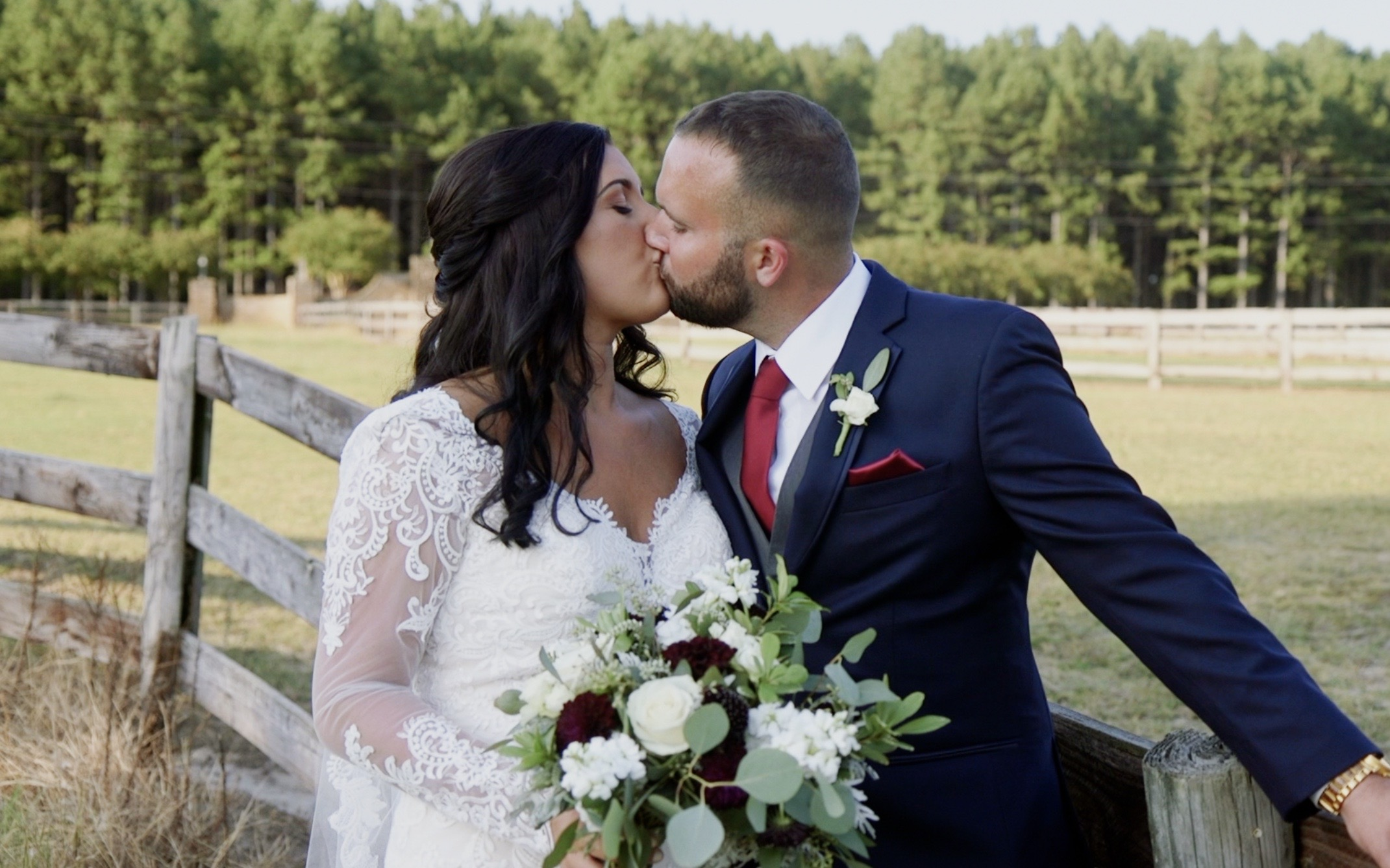 Brittany + Brendan | Raleigh, North Carolina | The Pavilion at Carriage Farm