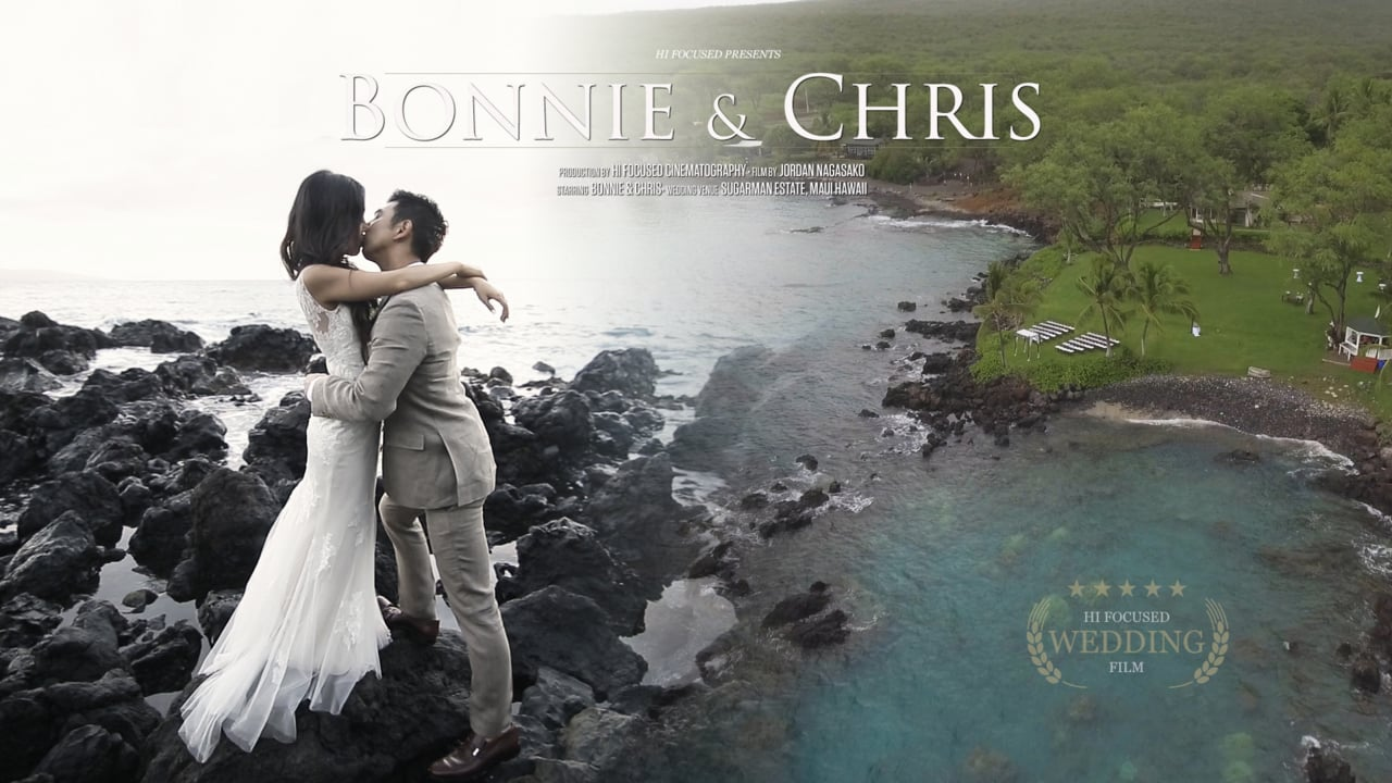 Bonnie + Chris | Makena, Hawaii | Sugarman's Estate