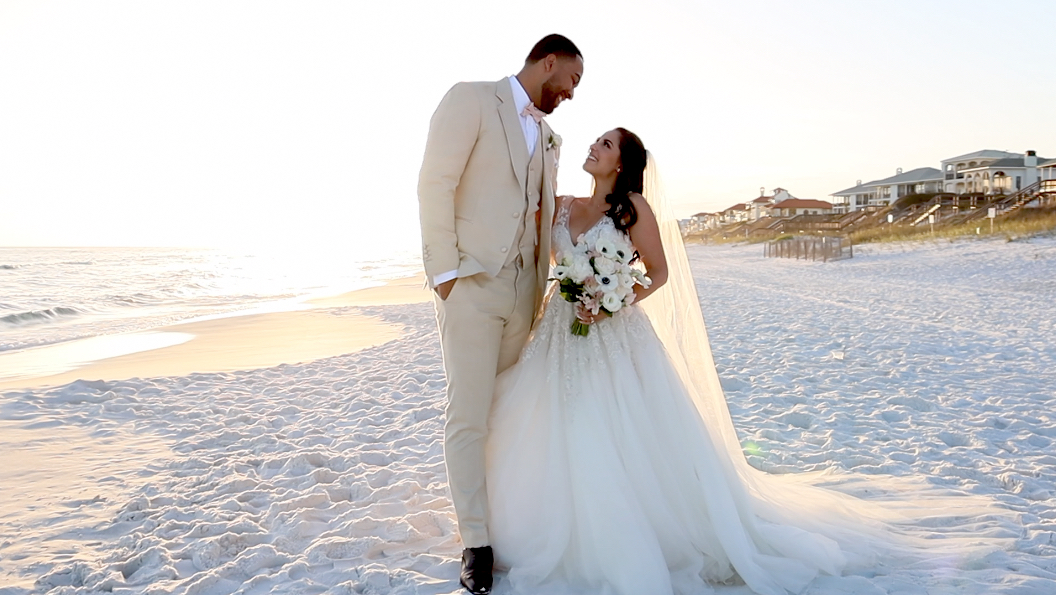 Julie + Jordan | Santa Rosa Beach, Florida | Vue on 30a
