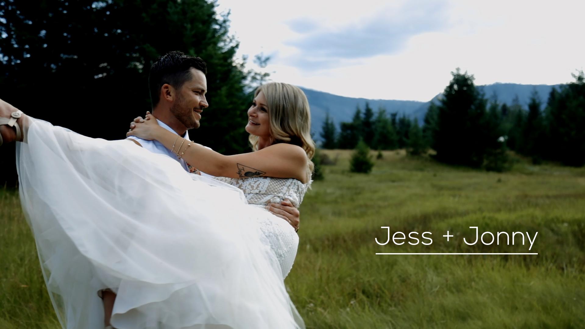 Jess + Jonny | Sorrento, Canada | Rustic Wedding