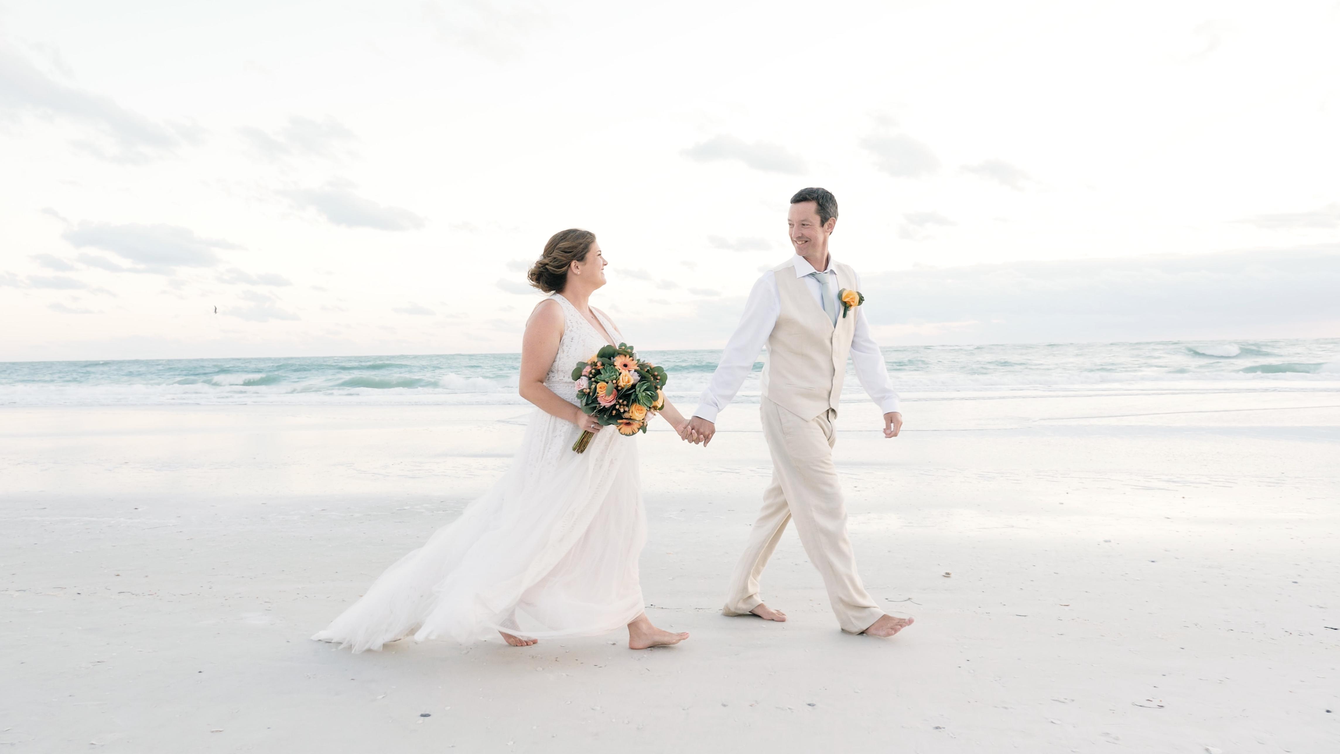 Margaret + Darren | Anna Maria, Florida | The Sandbar Restaurant