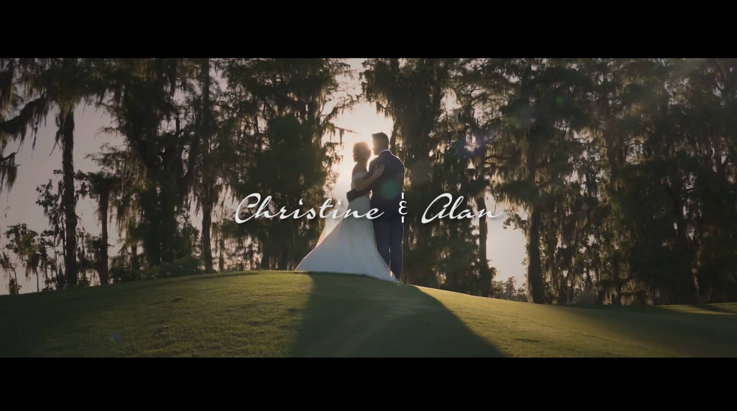 Alan + Christine | Orlando, Florida | Isleworth Country Club