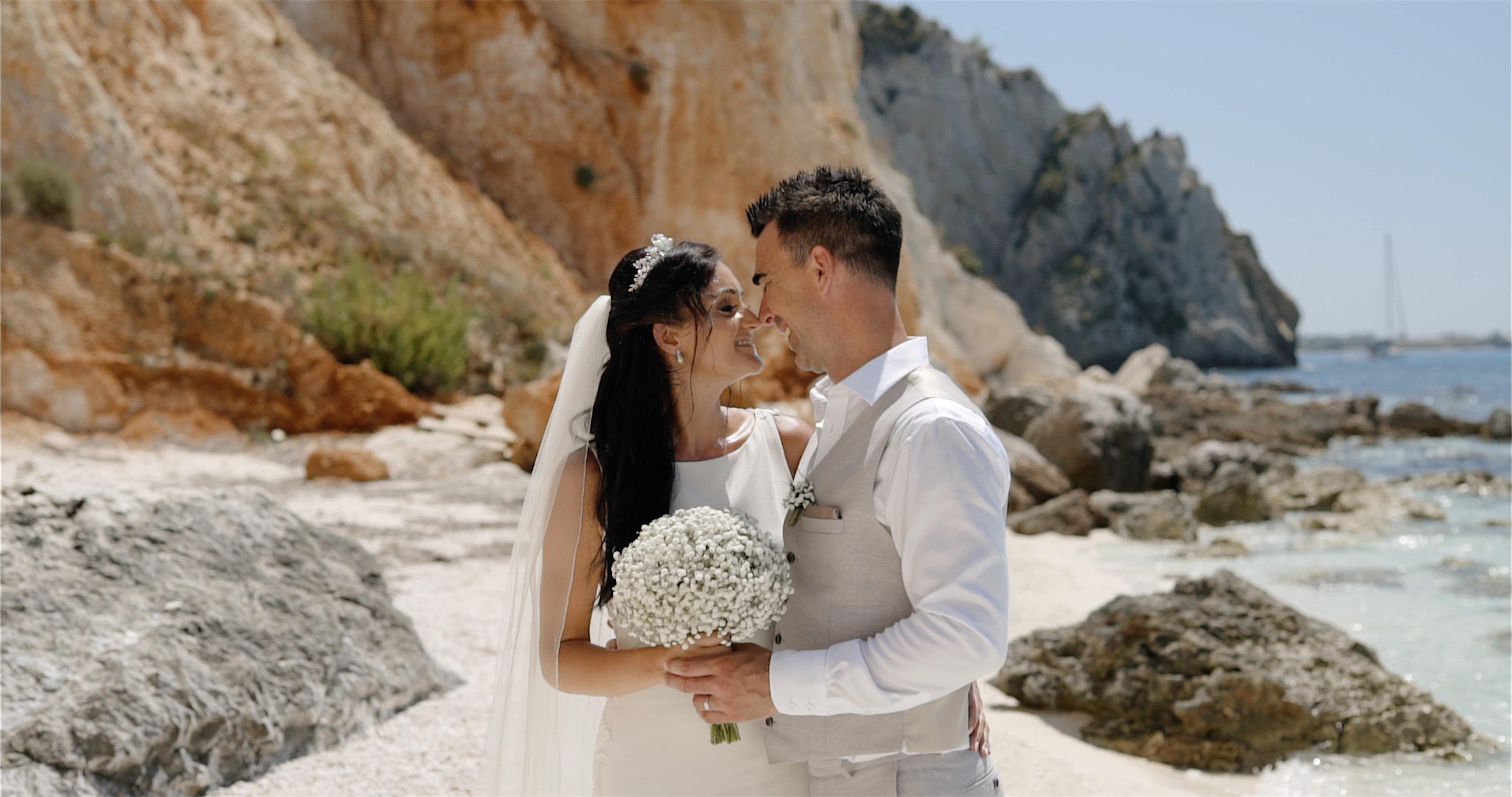 Lucinda + Matthew | Greece, Greece | a beach