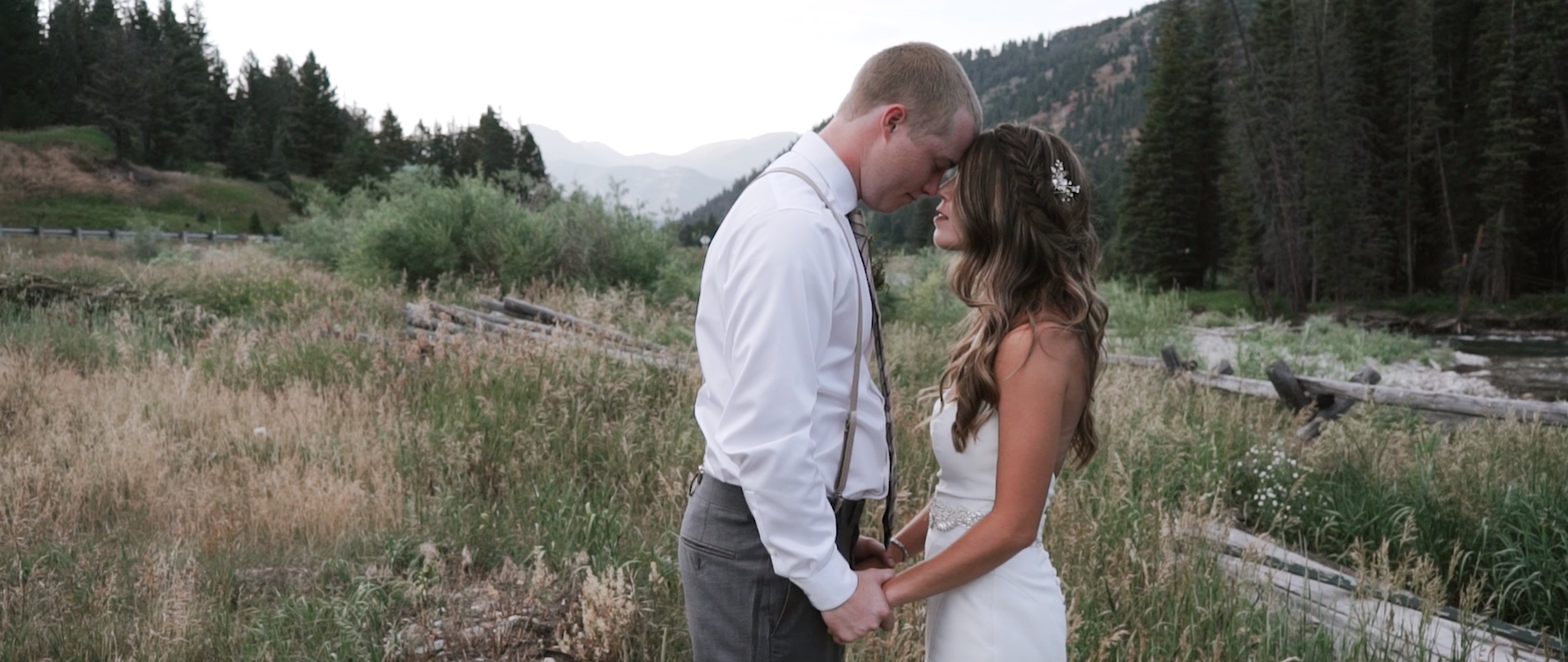 Dakota + Alexa | Big Sky, Montana | Rainbow Ranch Lodge