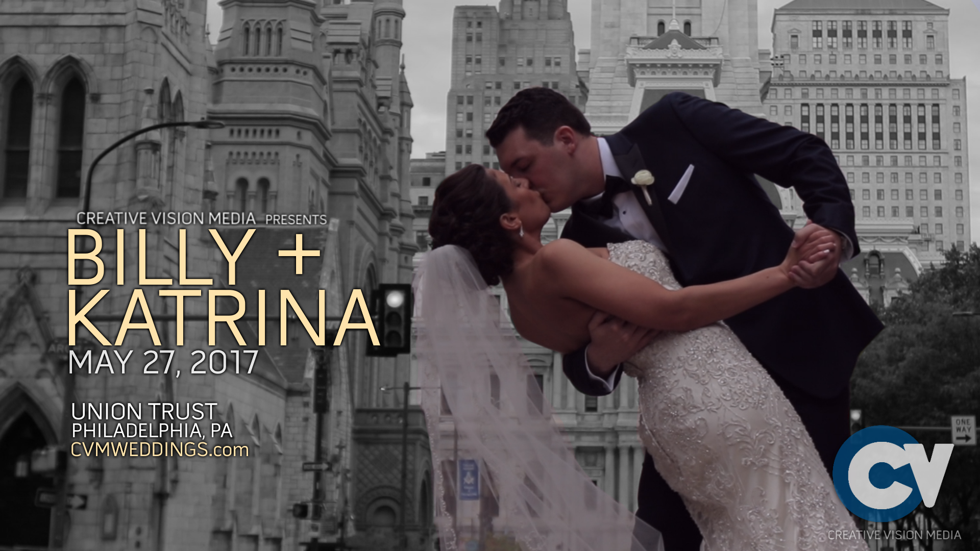 Billy + Katrina | Philadelphia, Pennsylvania | Union Trust