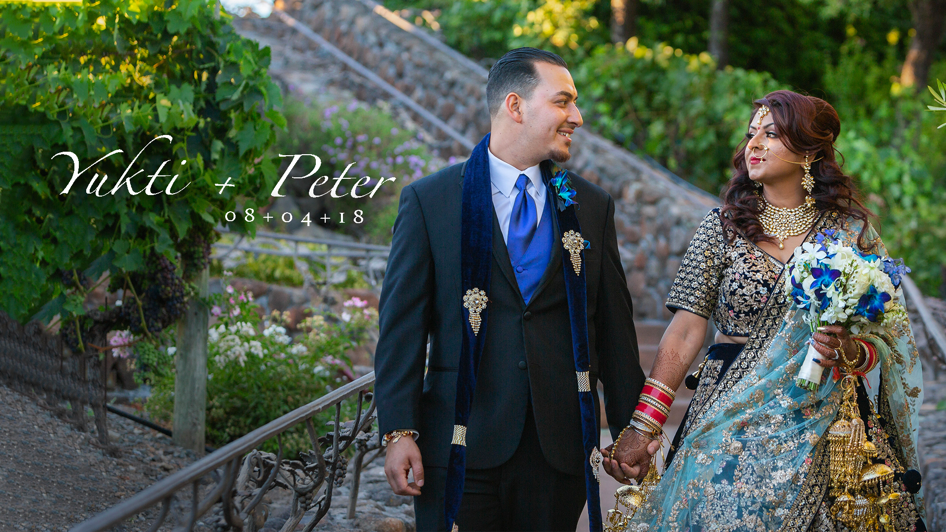 Yukti + Peter | Sonoma, California | viansa Winery