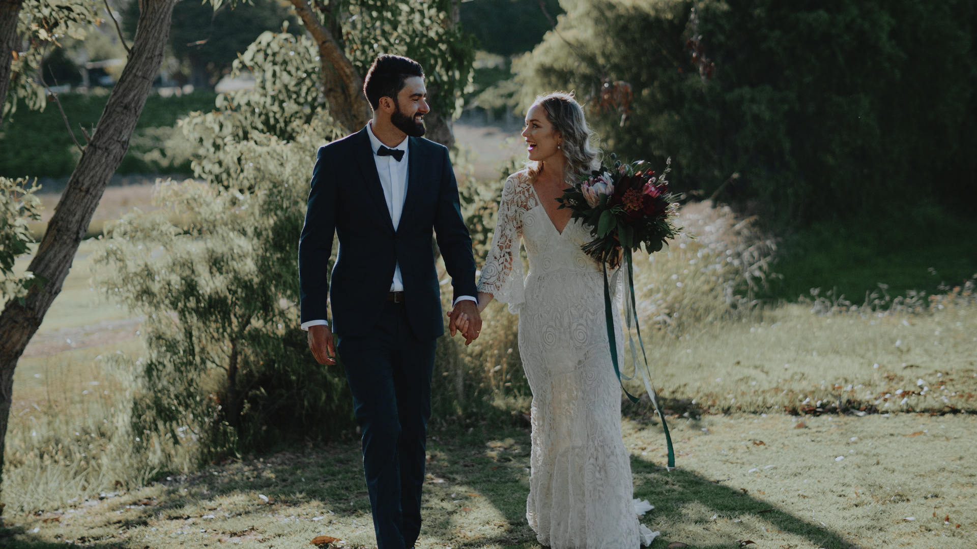Kate + Jake | Wilyabrup, Australia | Hayshed Hill Winery