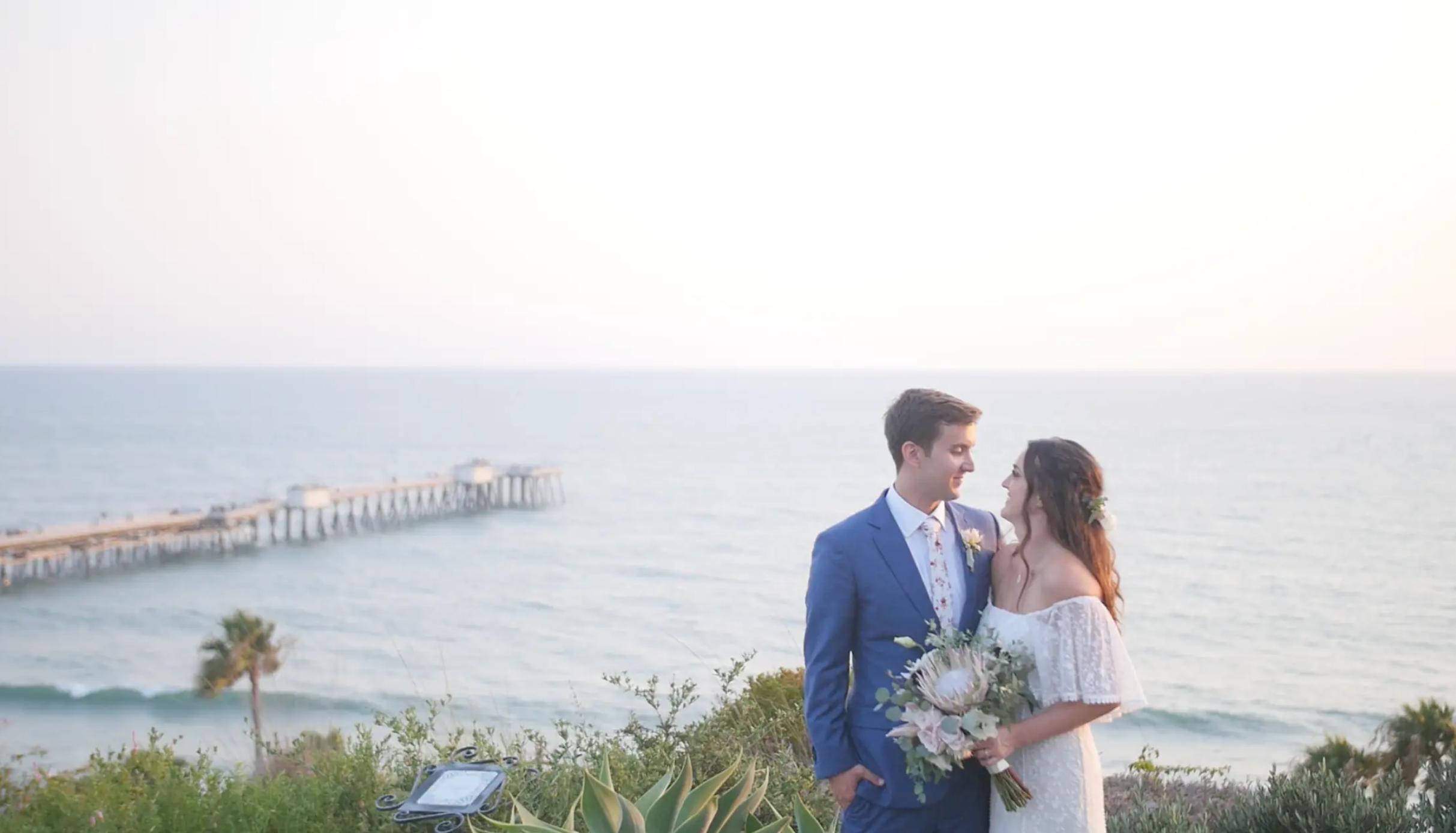 Becca + Jared | San Clemente, California | Casa Romantica