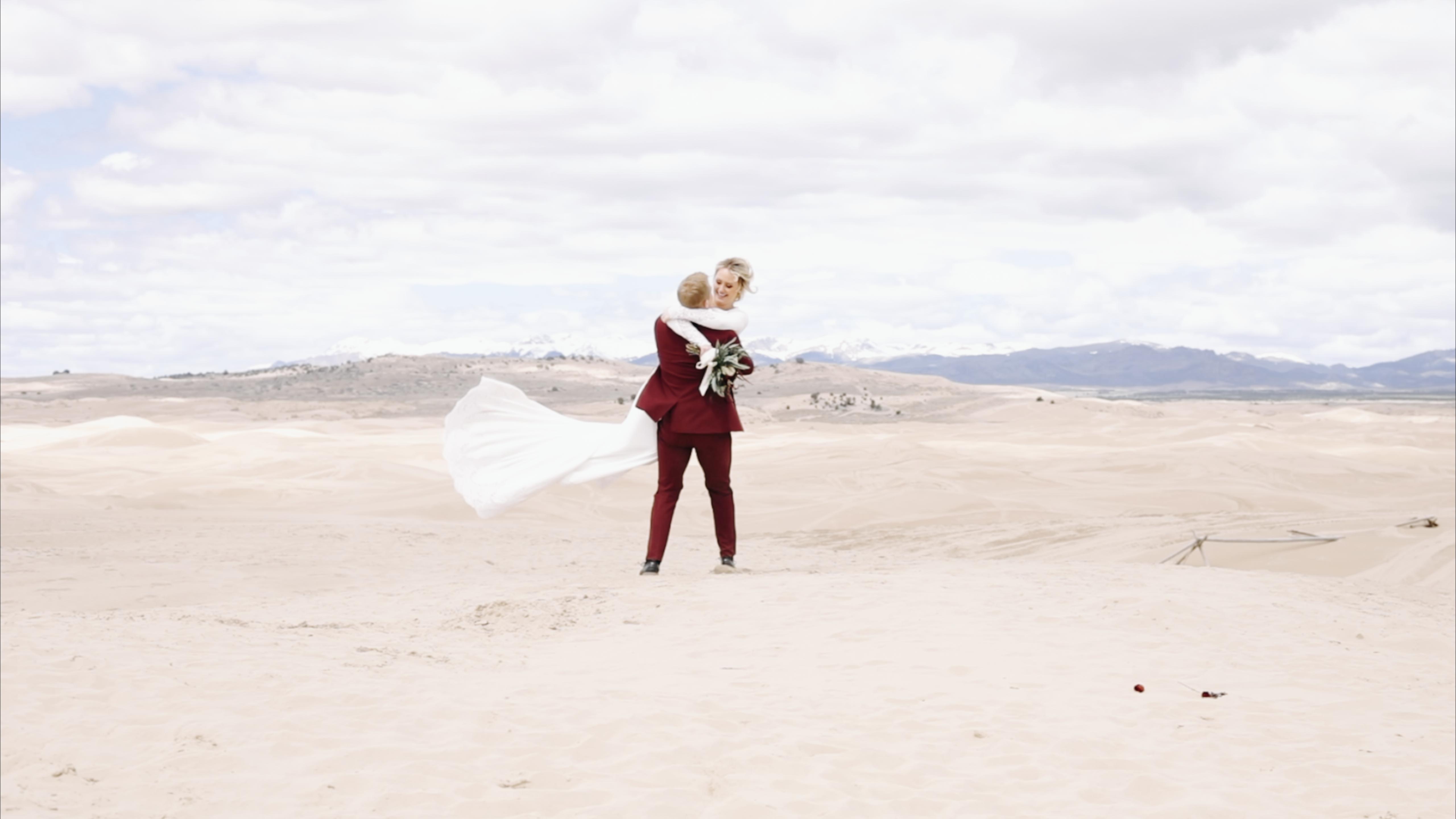 Jarom + Shanessa | Juab County, Utah | Little Sahara Sand Dunes