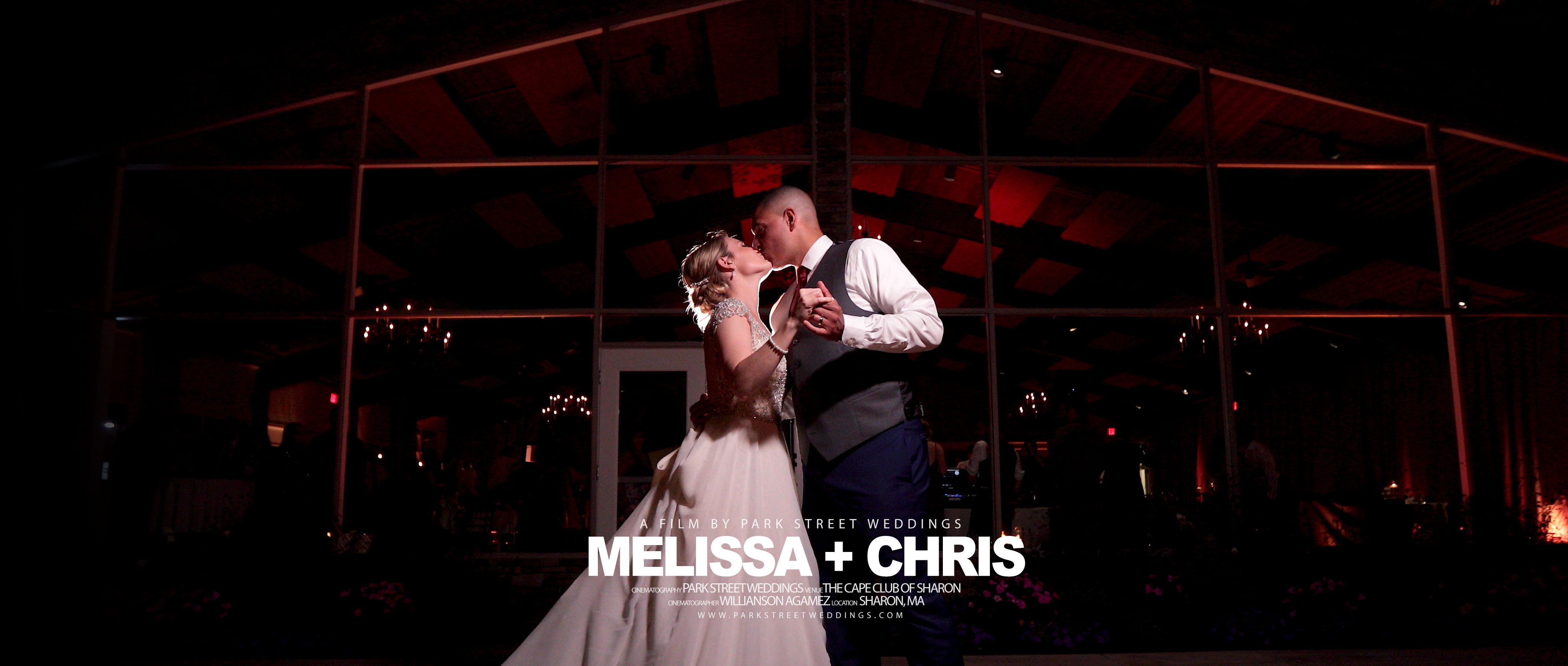 Melissa + Chris | Sharon, Massachusetts | The Cape Club of Sharon