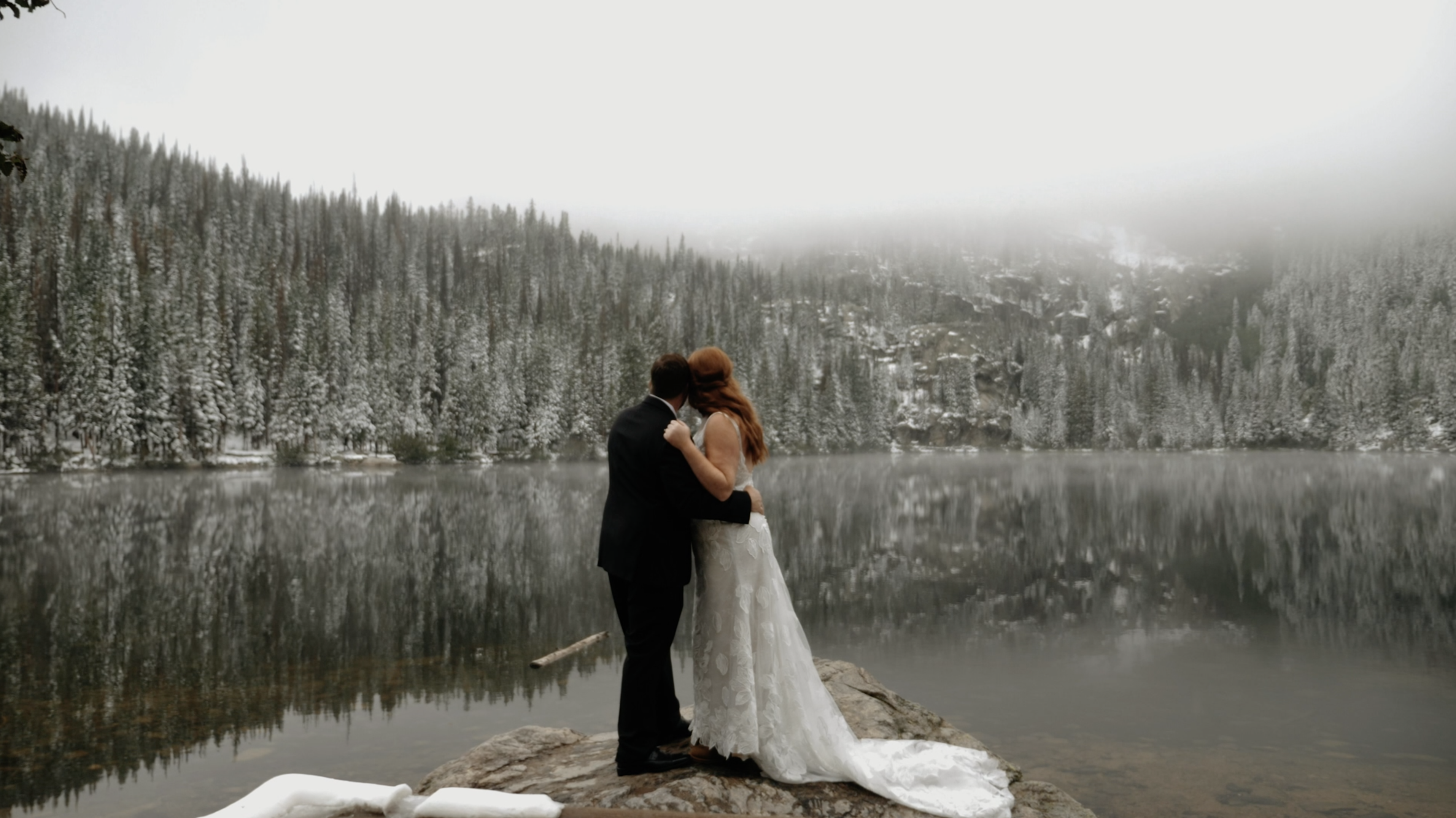 Janey + Kyle | Estes Park, Colorado | SkyView at Fall River