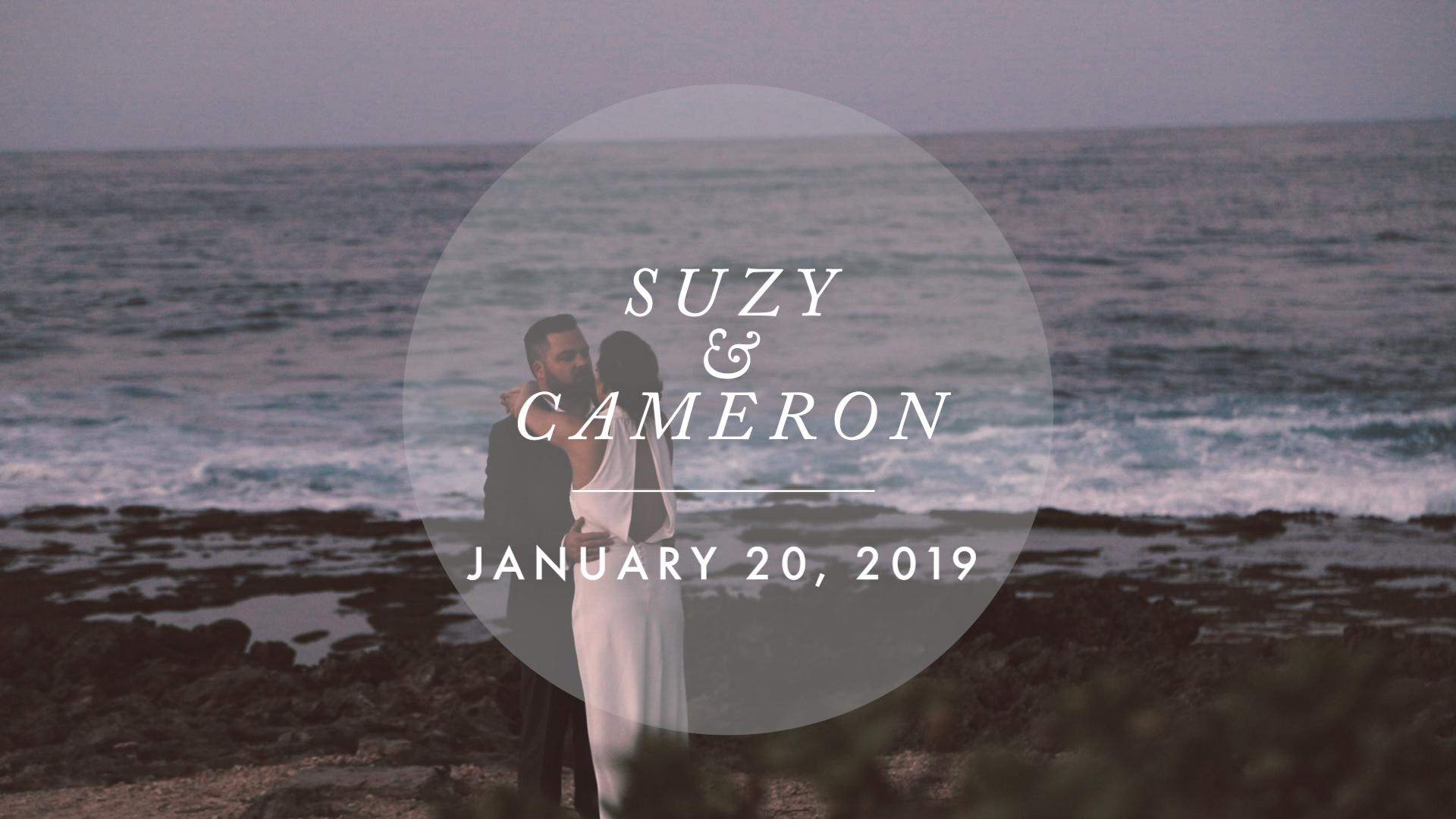 Suzy + Cameron | Kahuku, Hawaii | Turtle Bay Resort