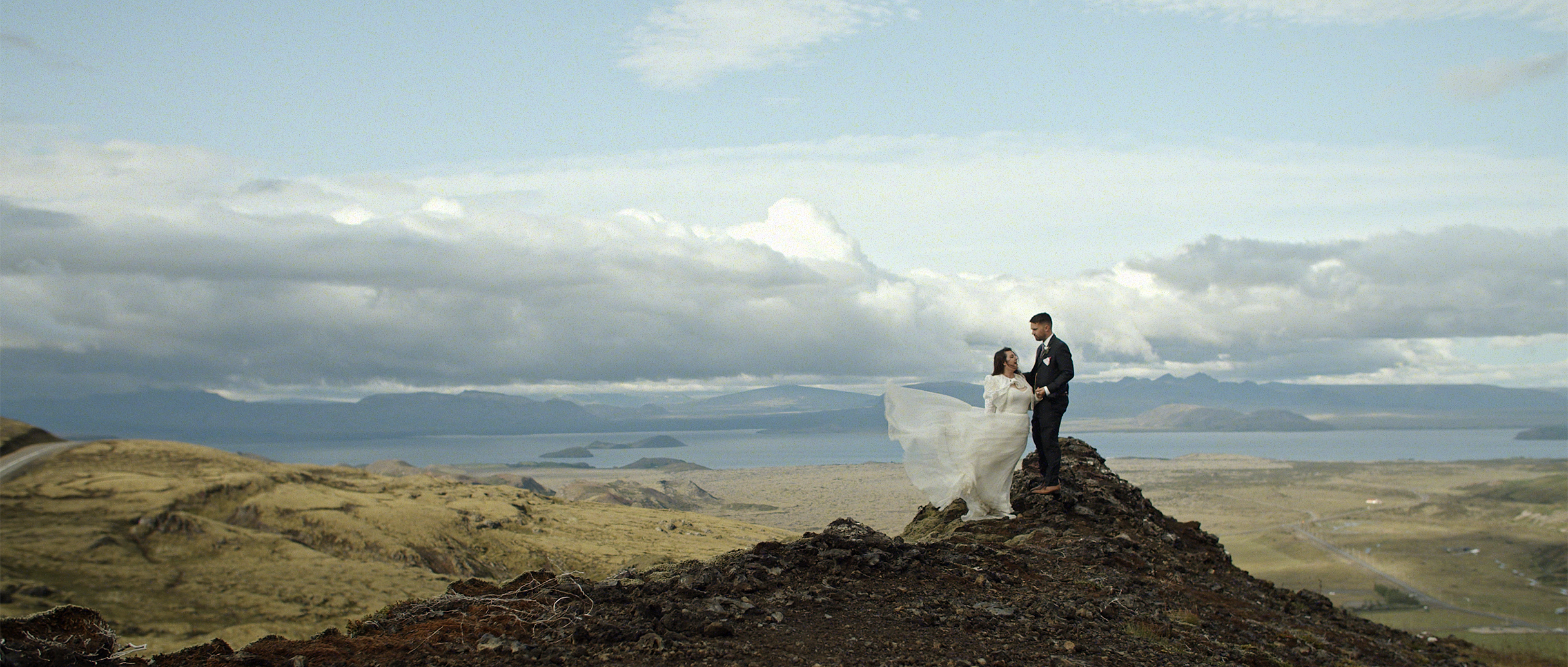 Megan + Rupert | Thingvellir, Iceland | a church