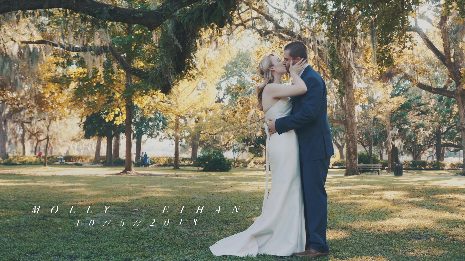 Molly + Ethan | Savannah, Georgia | Forsyth Park, Savannah