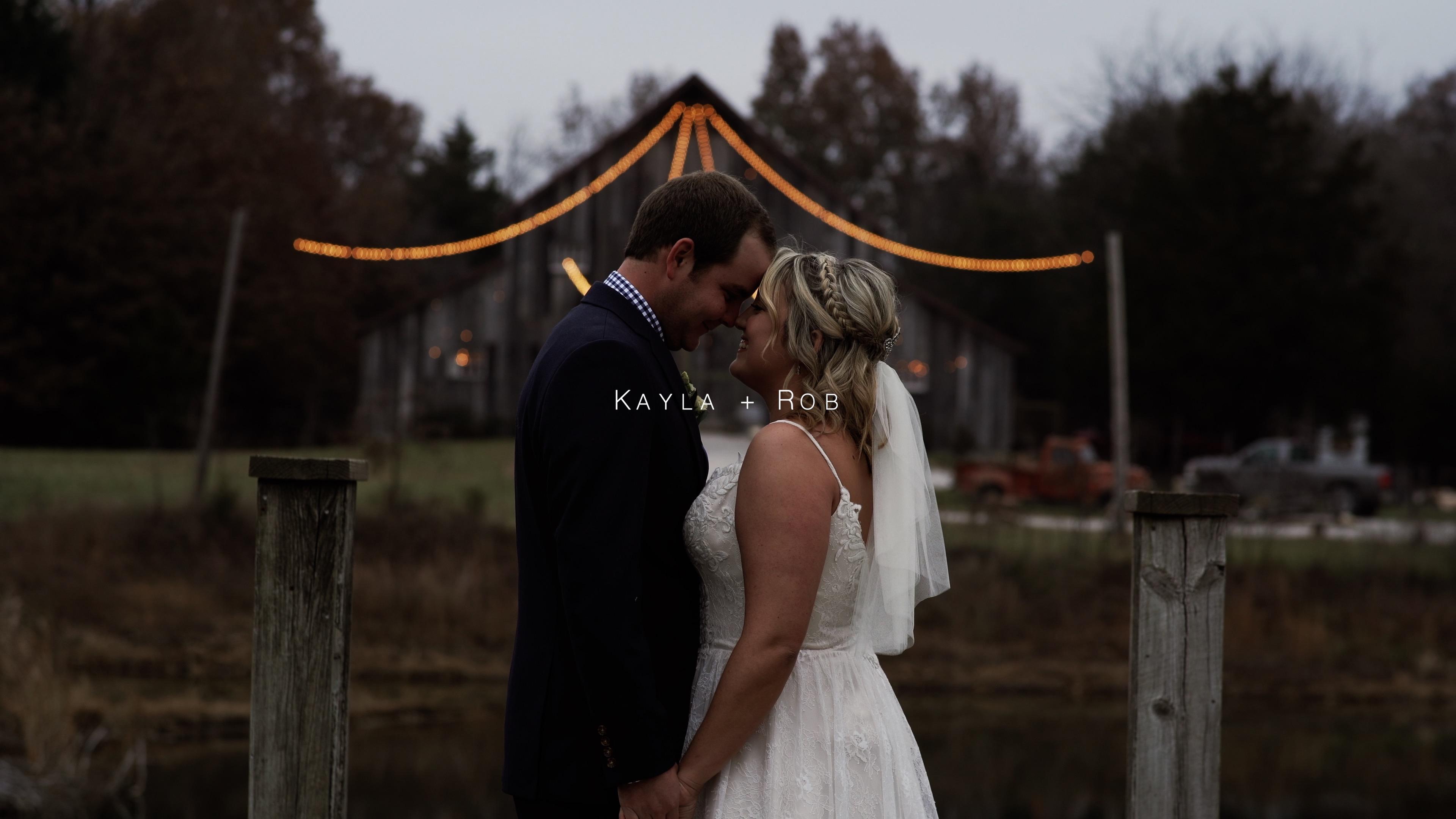 Kayla + Rob | Sedalia, Missouri | Heritage Ranch