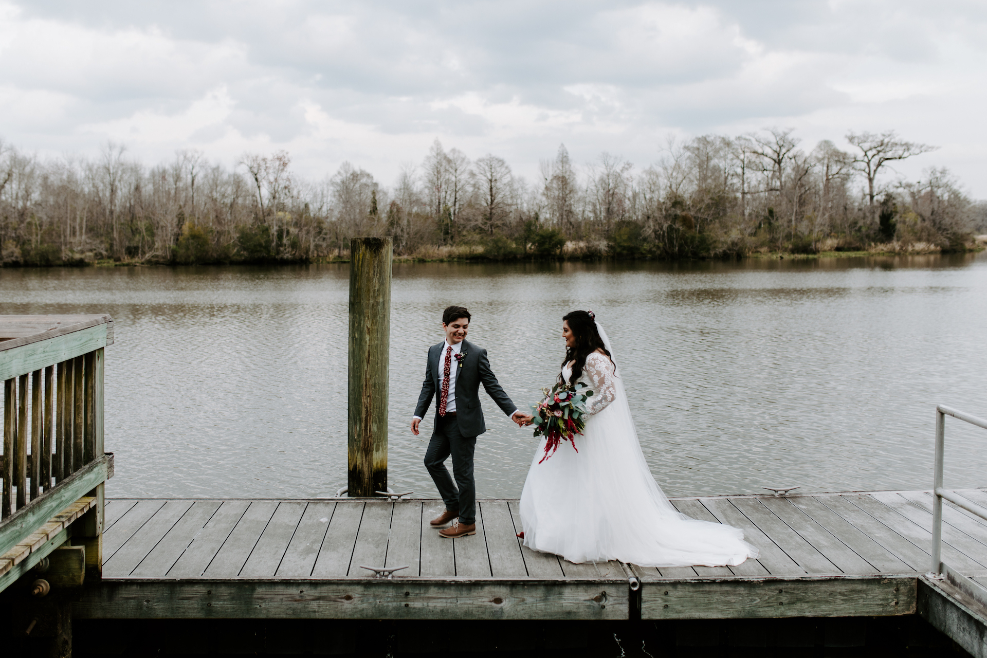 Jen + Frankie | Charleston, South Carolina | Old Santee Canal Park