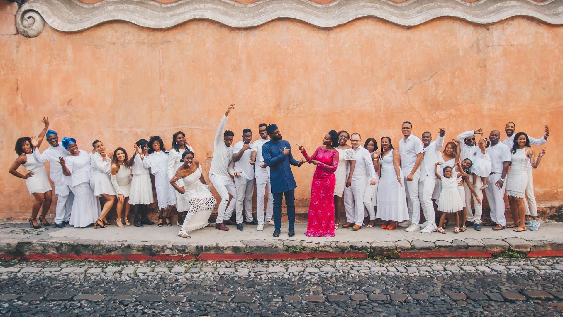 Marie + Seun | Antigua Guatemala, Guatemala | Iglesia y Convento de las Capuchinas