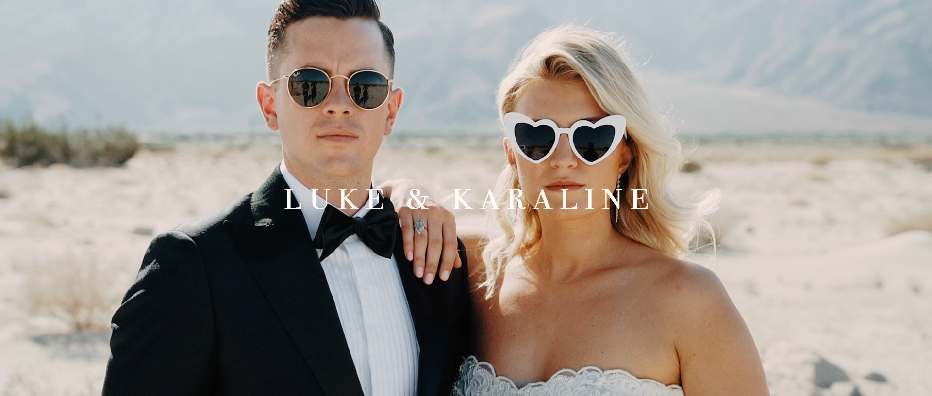 Luke + Karaline | Palm Springs, California | Frederick Loewe Estate