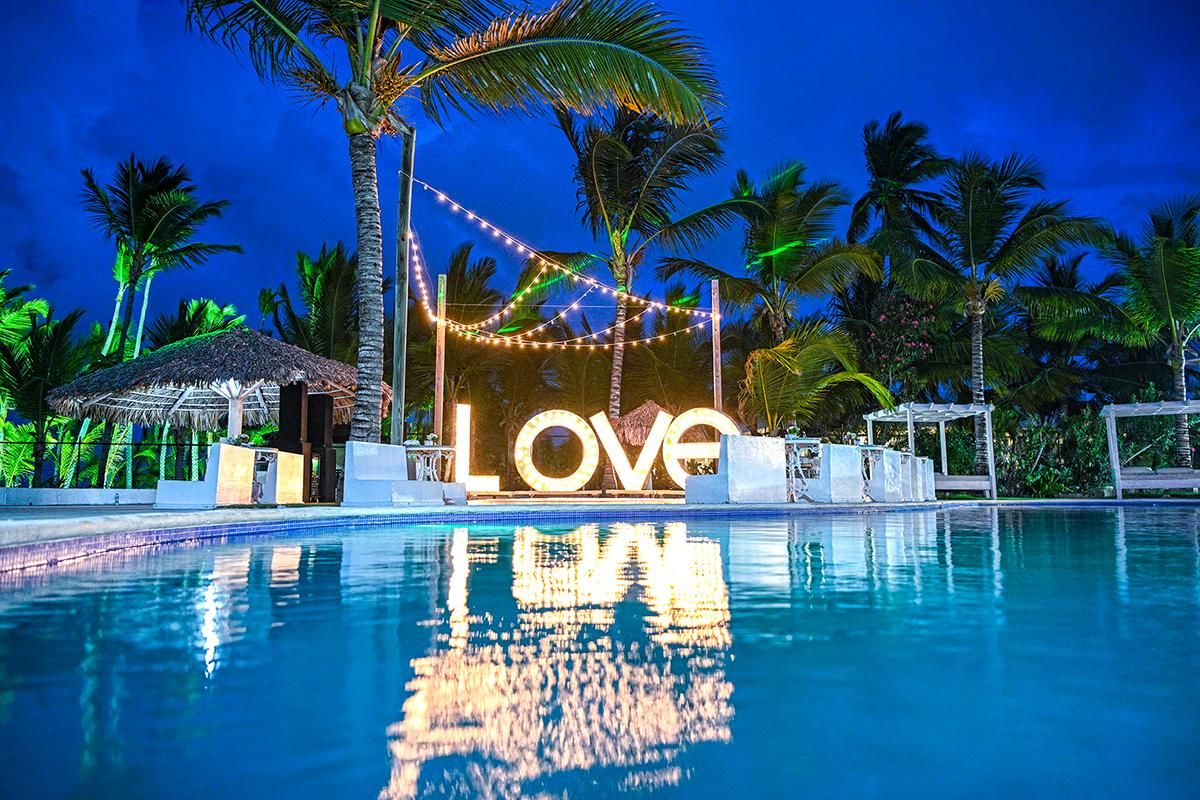 Luis + Michelle | Punta Cana, Dominican Republic | Kukua Beach Club Punta Cana