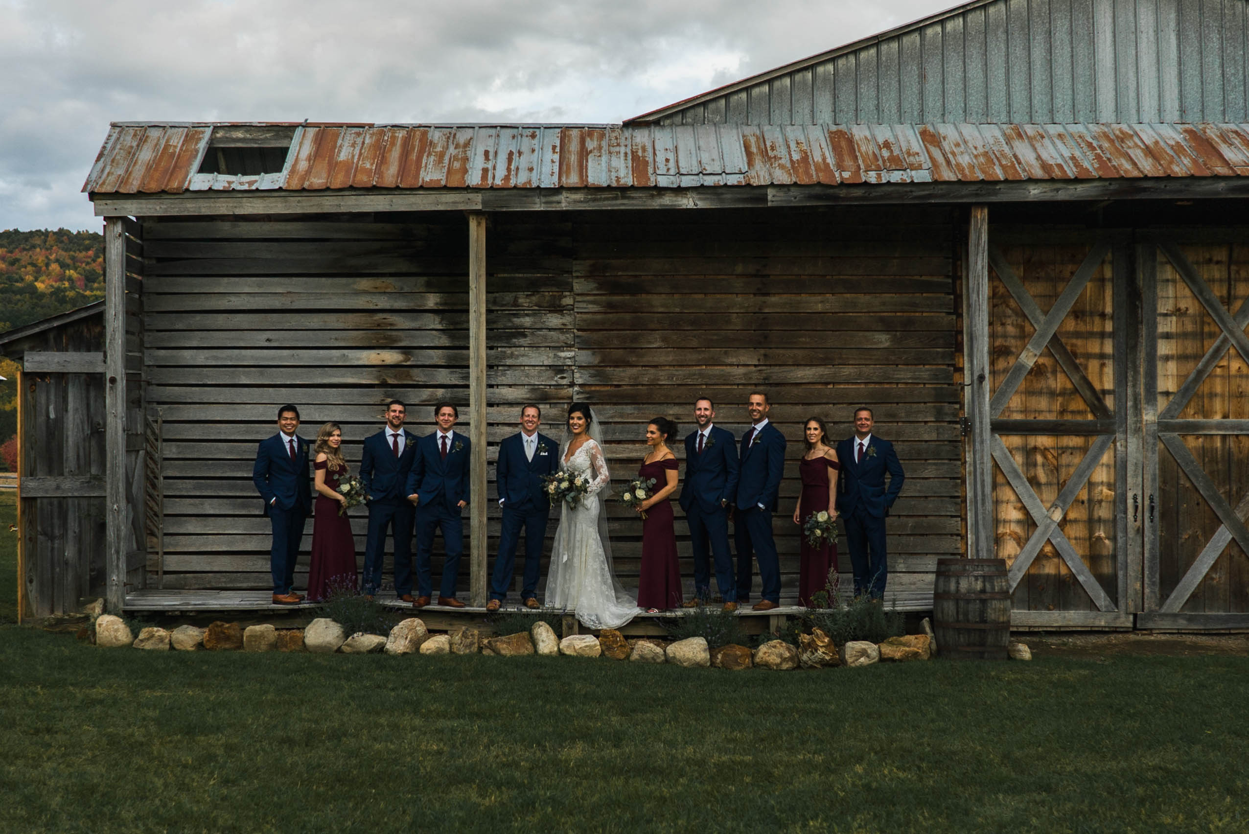 Kate + Tim | Cambridge, New York | Barn at Lakota Farm, Cambridge