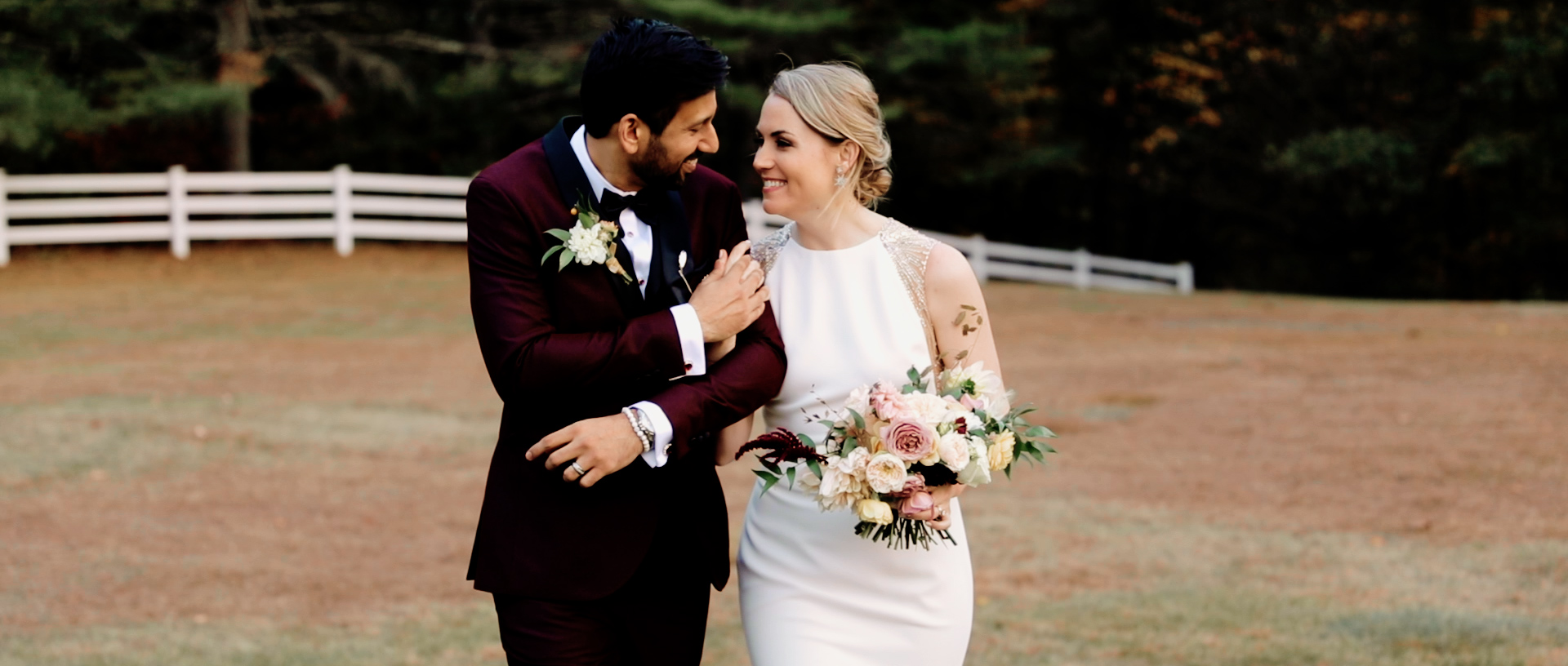 Emily + Jeet | Waterford, Maine | Bear Mountain Inn