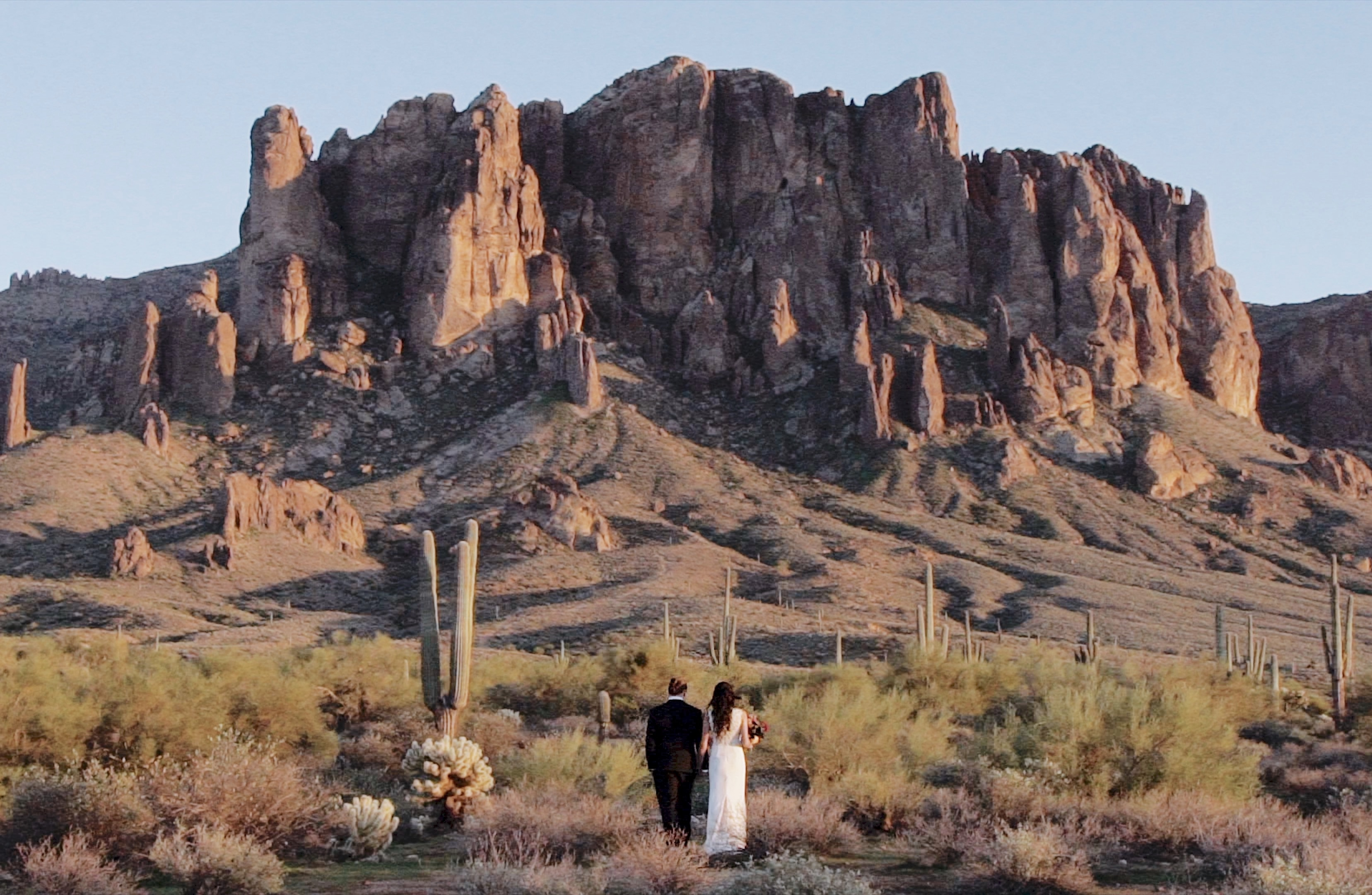 Megan + Brock | Phoenix, Arizona | superstition Mountains