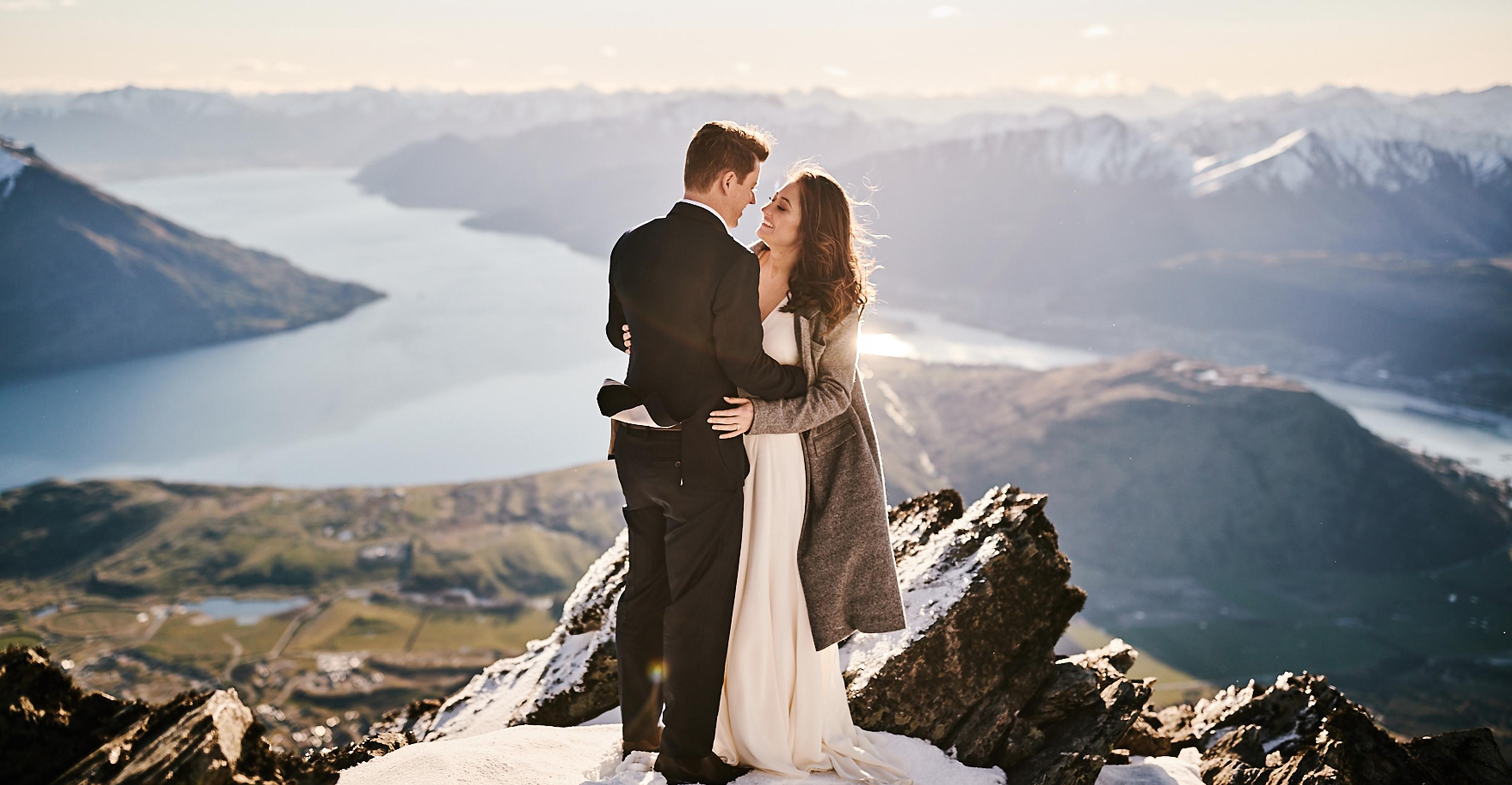 Keira  + Jared   Queenstown, New Zealand   The Hilton Queenstown