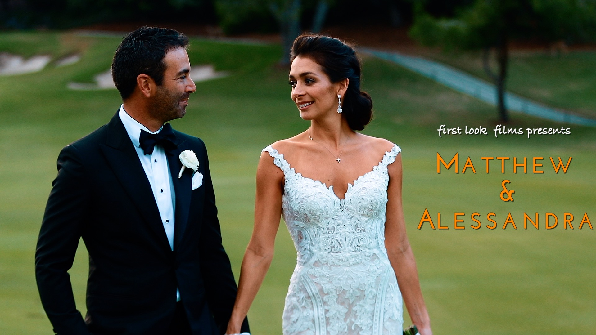 Matthew + Alessandra | Los Angeles, California | Annandale Golf Club