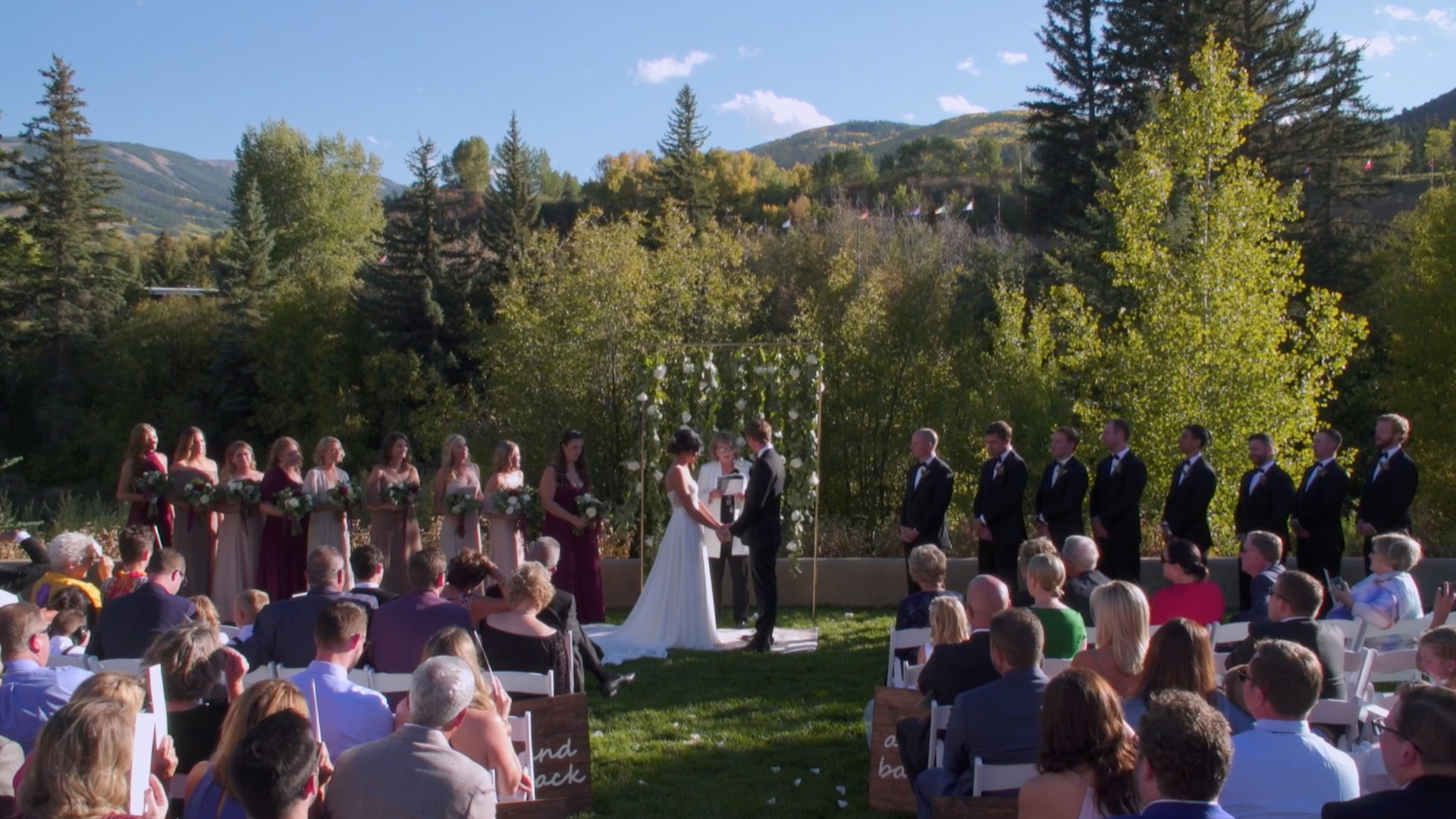 Kaylan + Sean | Avon, Colorado | Westin Riverfront Mountain Villas