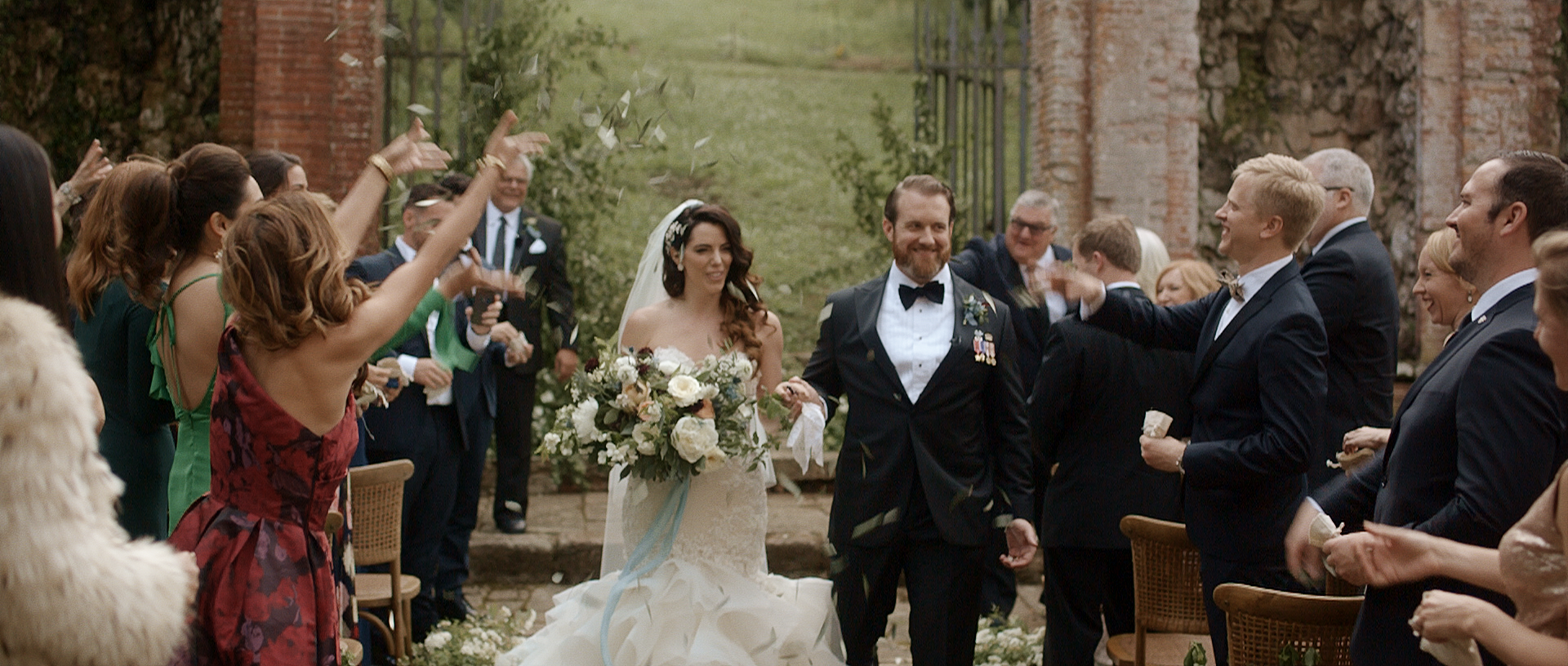 Lisa + Jim | Lucca, Italy | Villa Buonvisi
