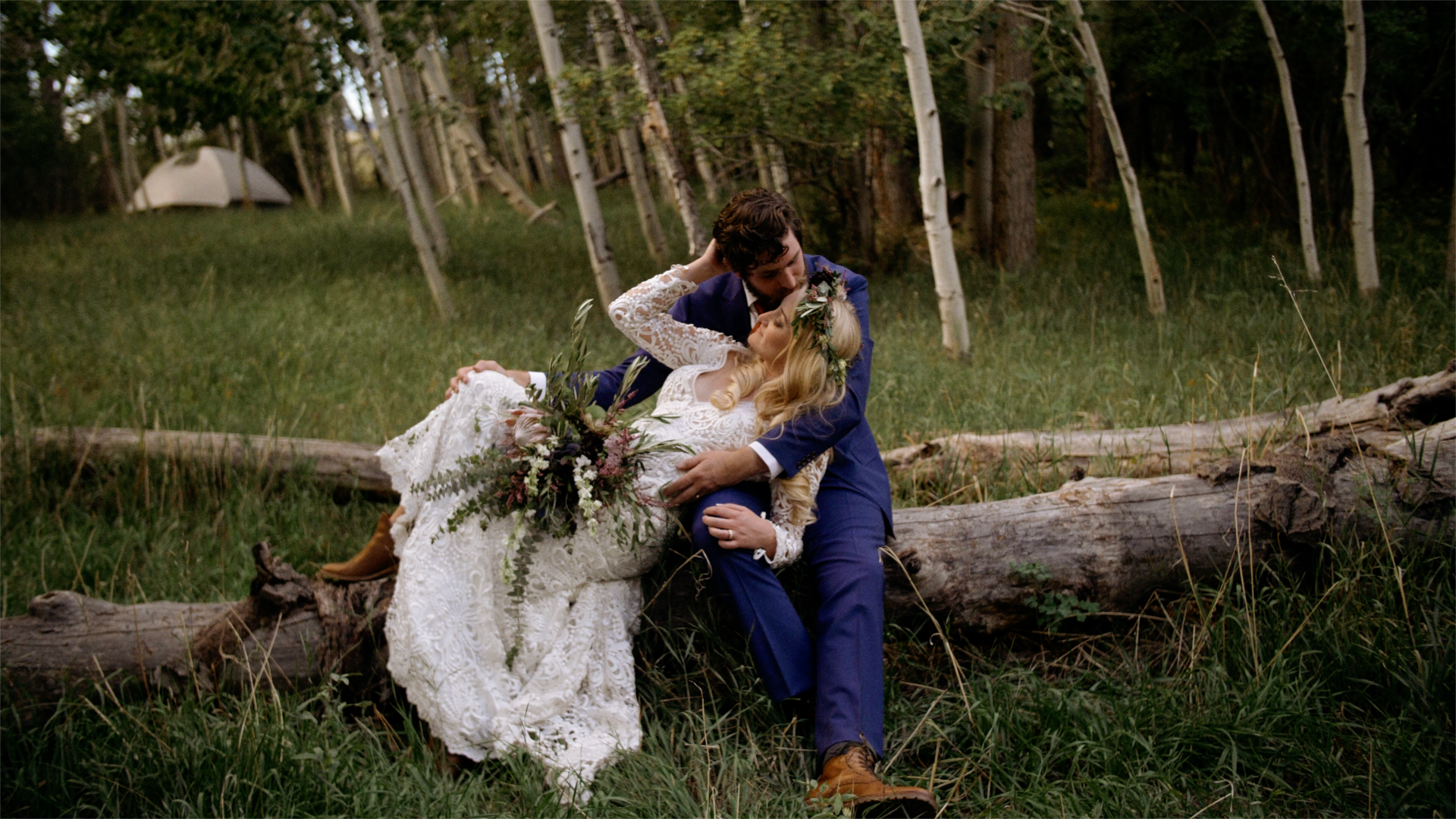 Taylor + Macy  | Westcliffe, Colorado | The Groom's Family Westcliffe Home