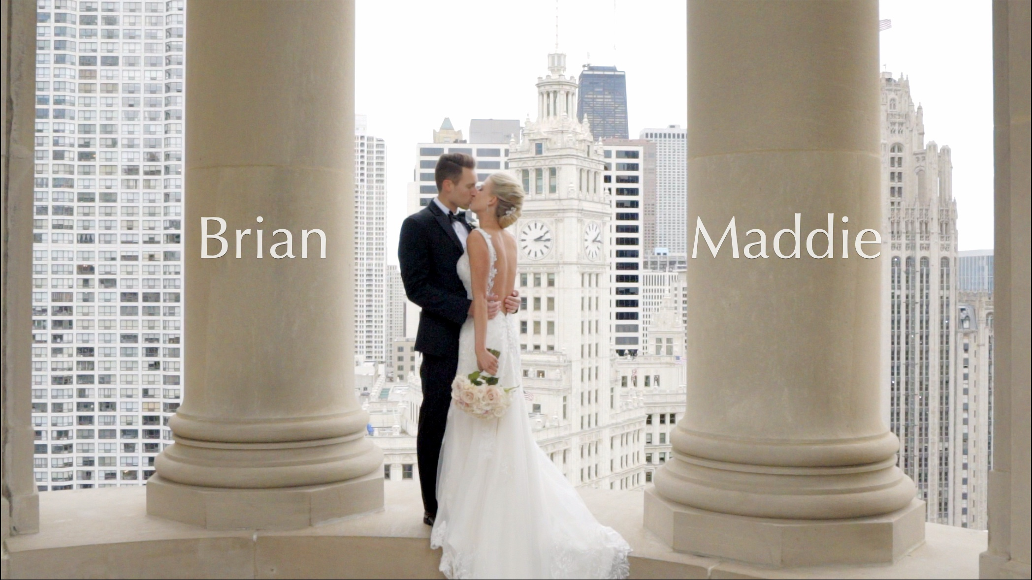 Maddie + Brian | Chicago, Illinois | LondonHouse Chicago