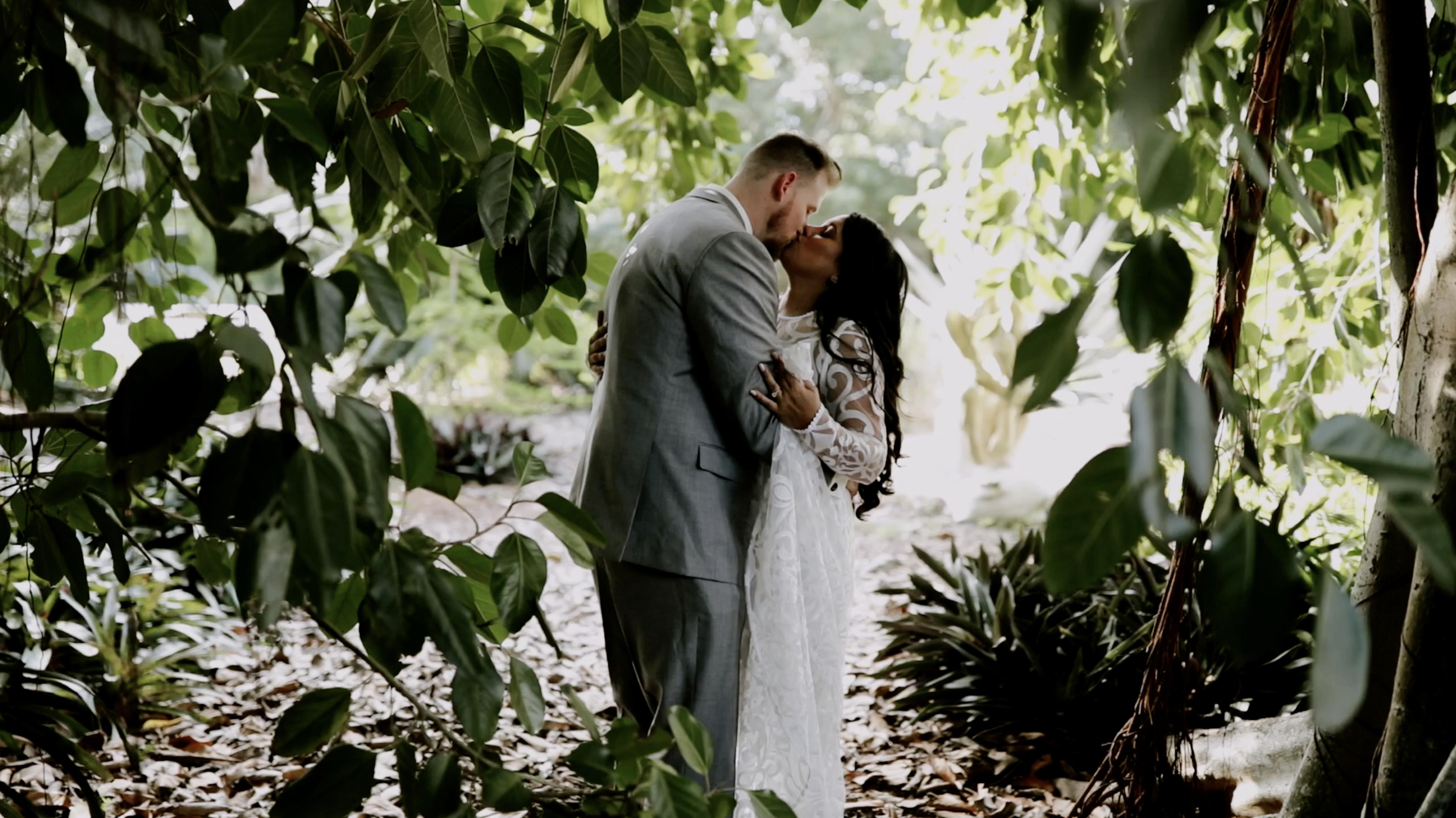 Nina + Kyle | Sarasota, Florida | Marie Selby Botanical Gardens