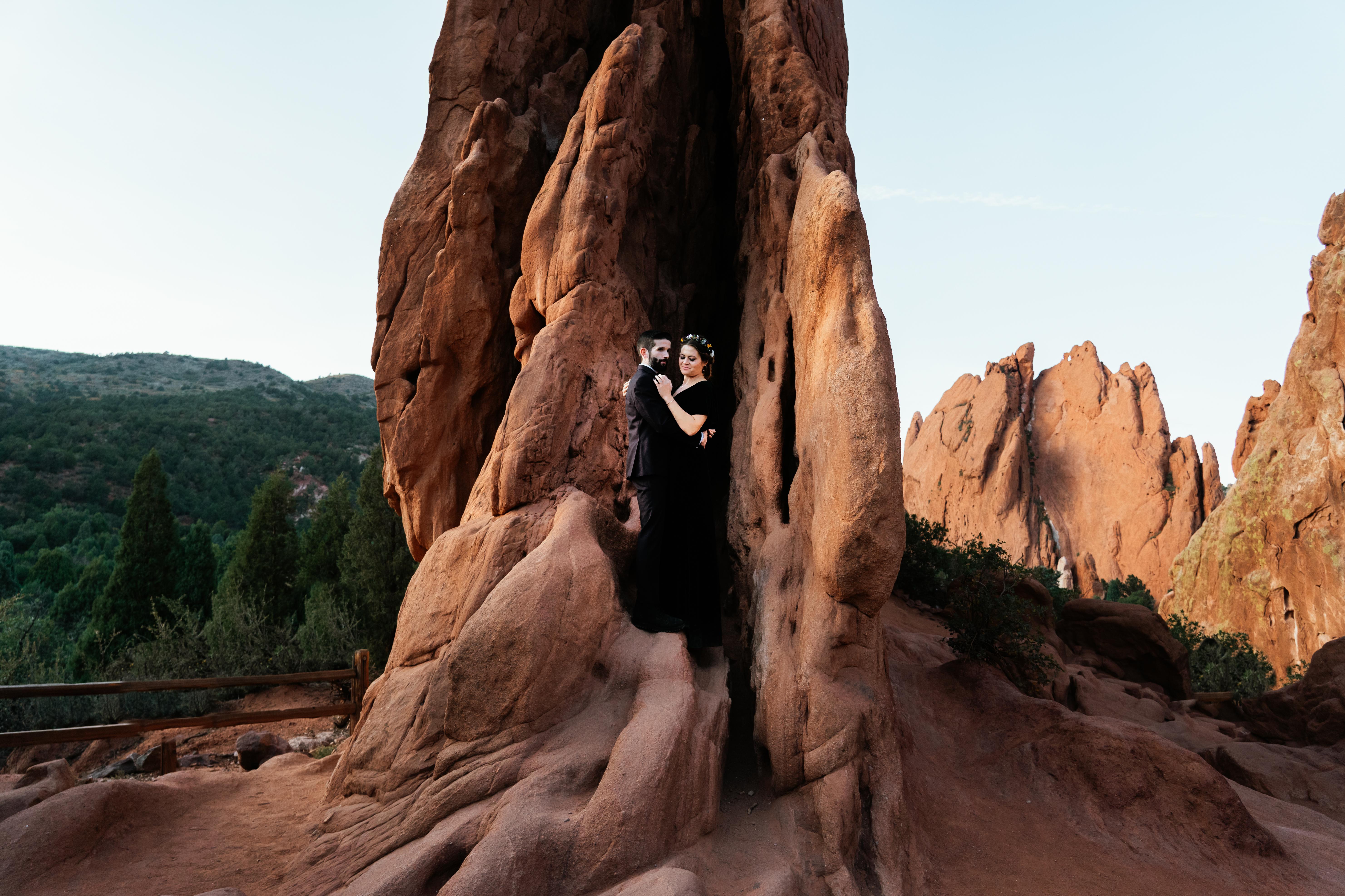 Jackie + Wayne   Colorado Springs, Colorado   Garden of the Gods