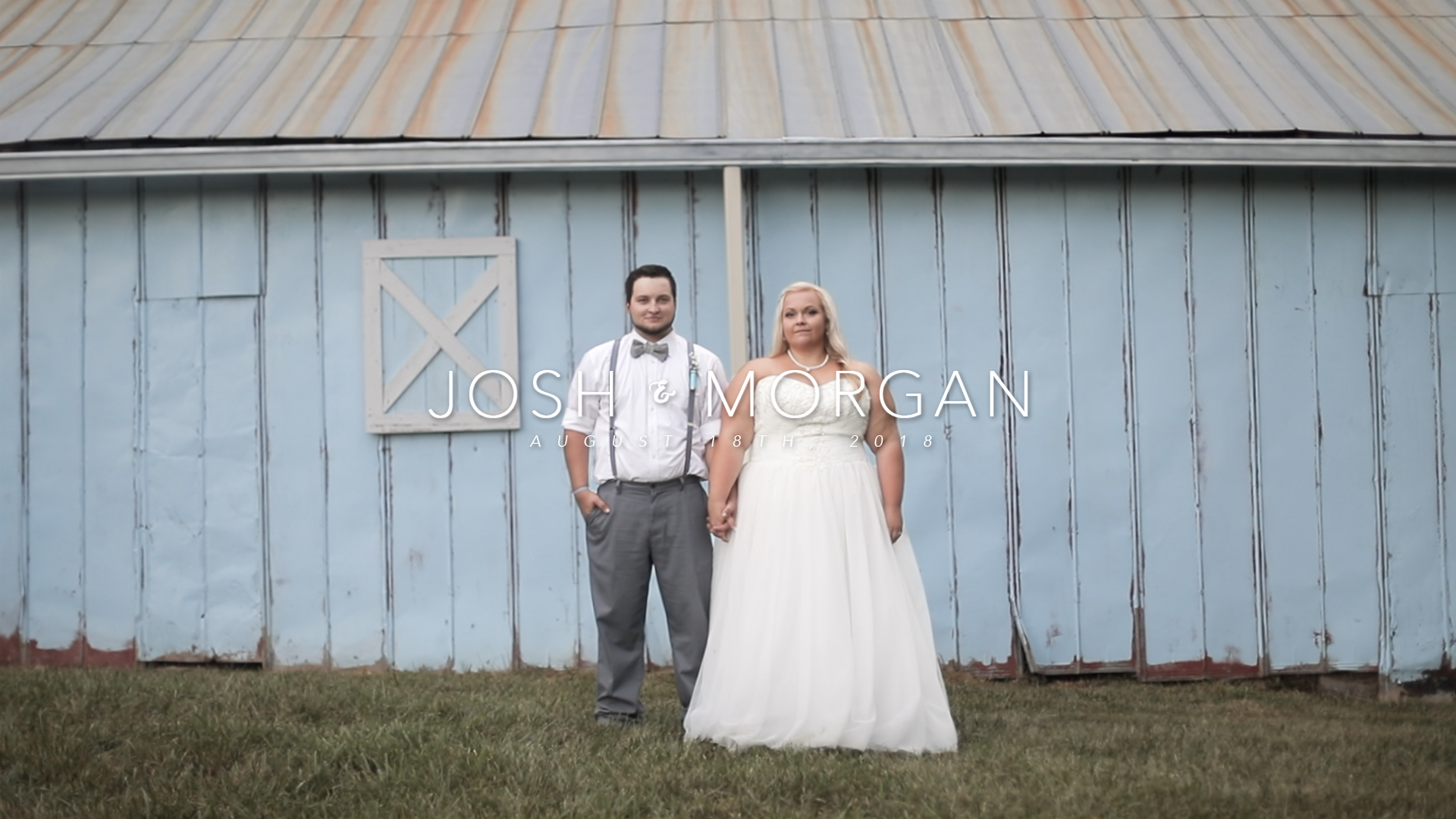 Josh + Morgan | Columbia, Tennessee | The Blue Barn Venue