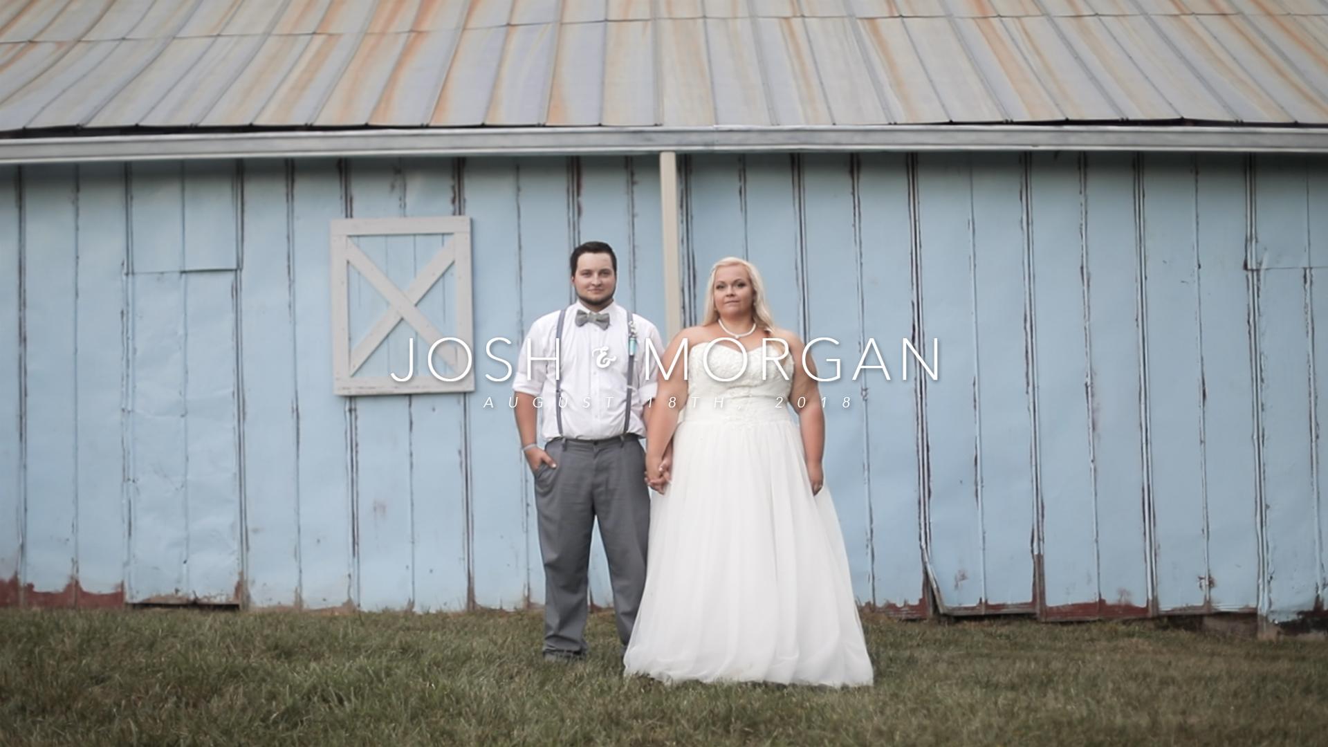 Josh + Morgan | Columbia, Tennessee | The Blue Barn Venue