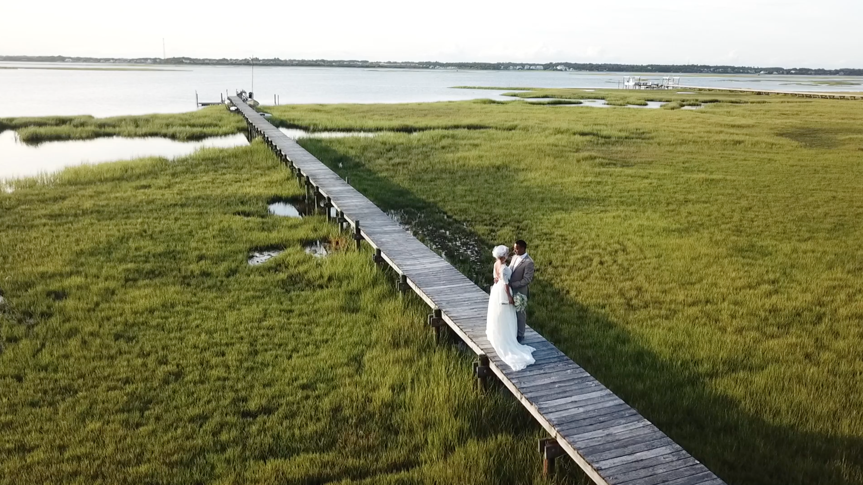 Olivia + Sunil | Emerald Isle, North Carolina | The Watson House