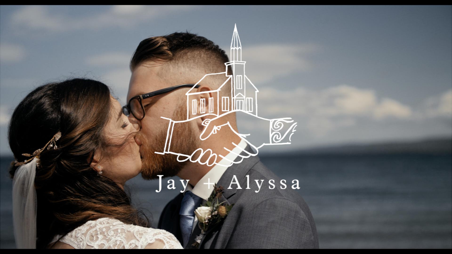 Alyssa + Jay | Iona, Canada | The Frolic & Folk Pub & Grill